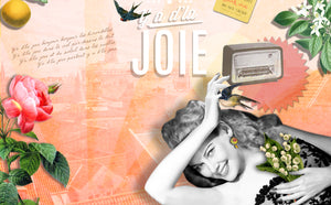 Perfume & Body Set JOIE - Orange Blossom, Rose, Lily of the Valley