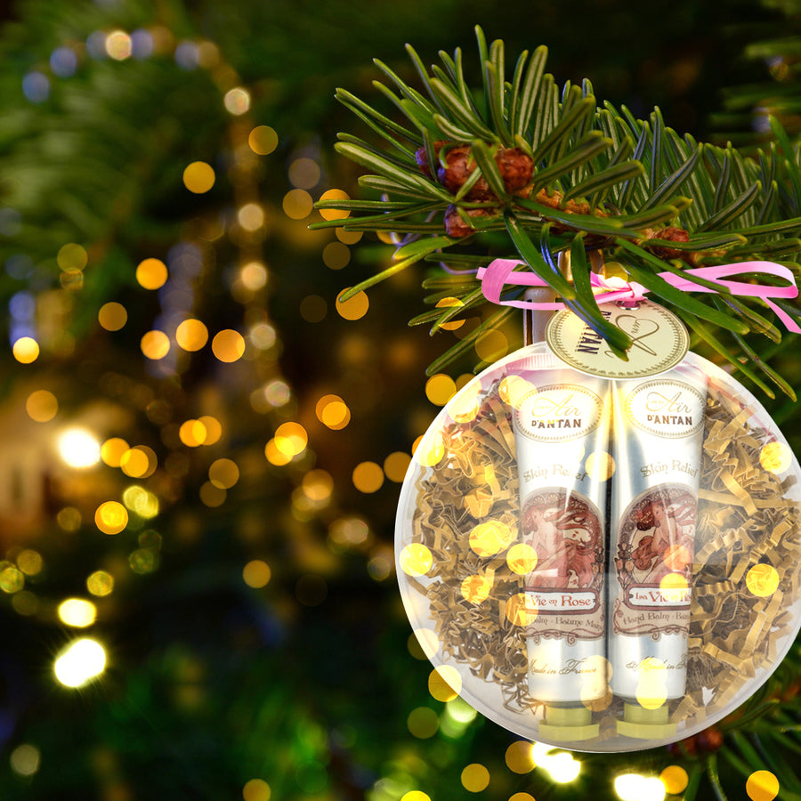Hand Creams CHRISTMAS BAUBLE ROSE (2x25ml)