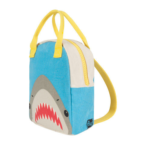 Lil B Pack Backpack Shark Print - side view