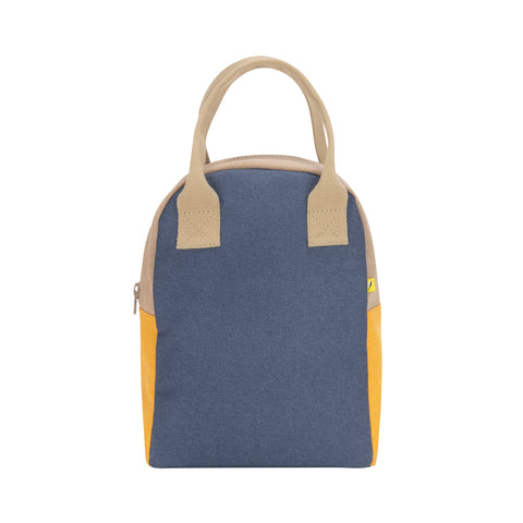 Zipper - Block Navy Mango