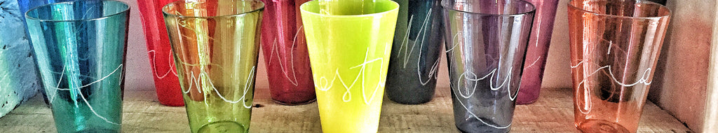 Personalised Graffiti Glasses
