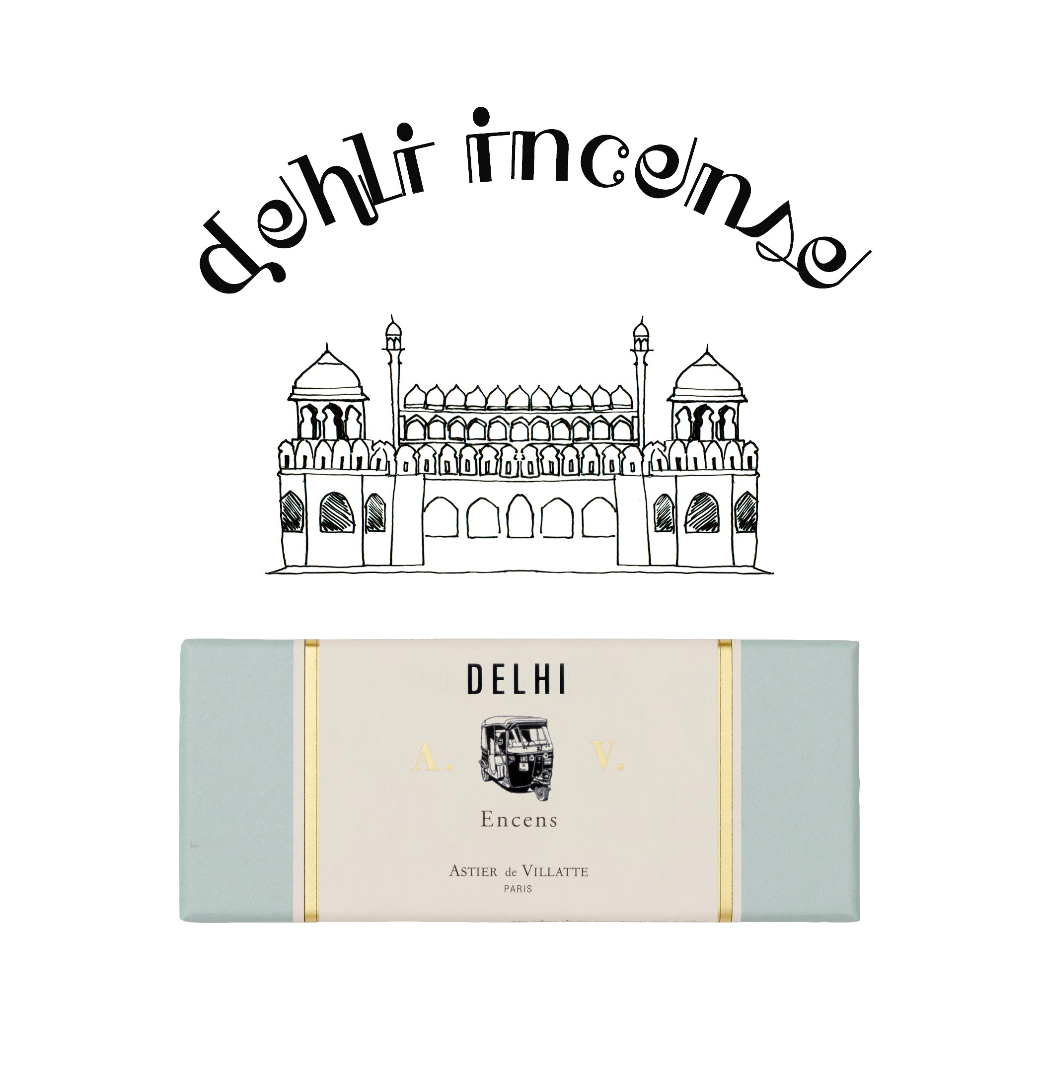 Delhi Incense by Astier de Villatte