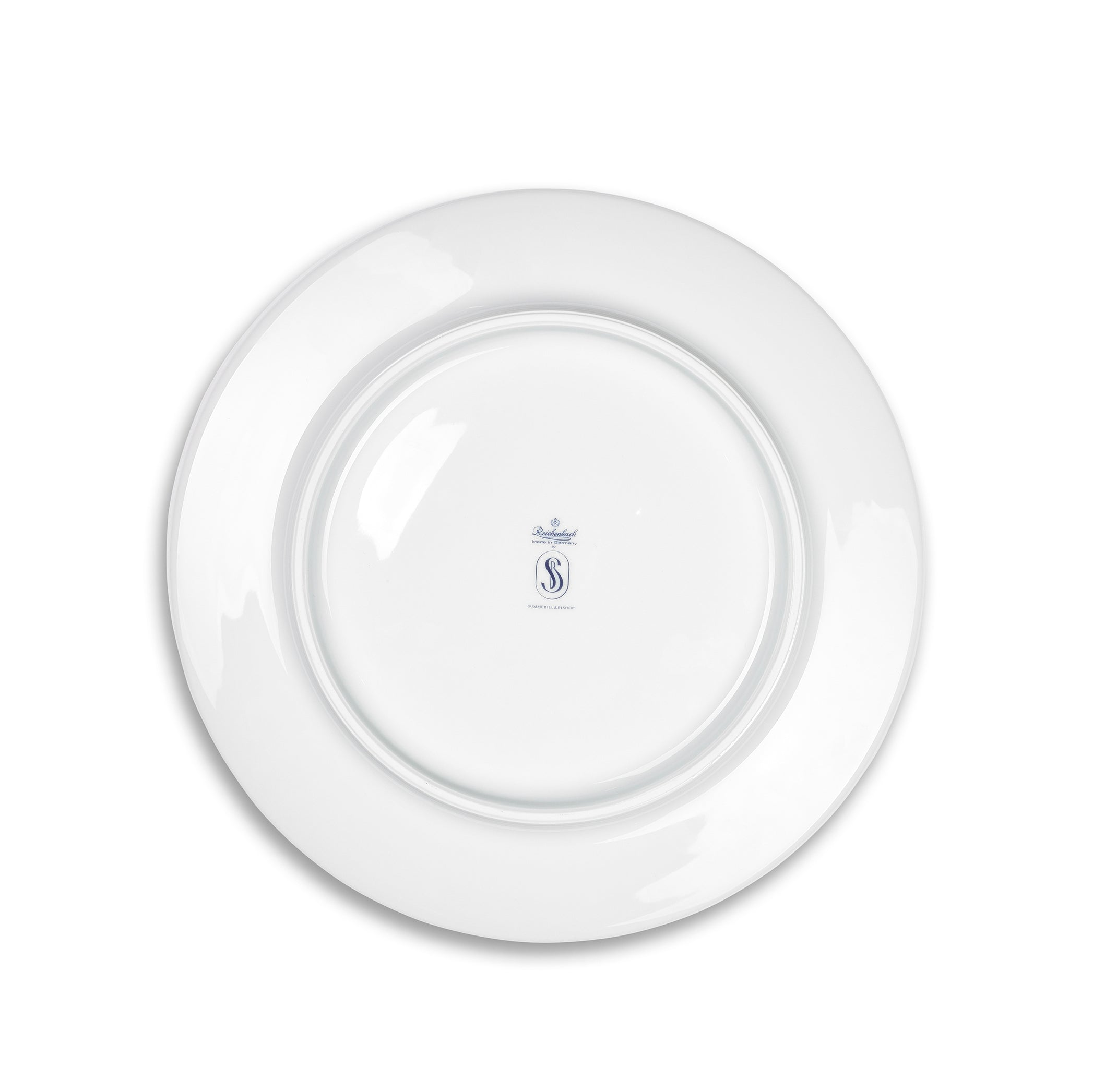 S&B 33cm Porcelain Charger with Blue Edge