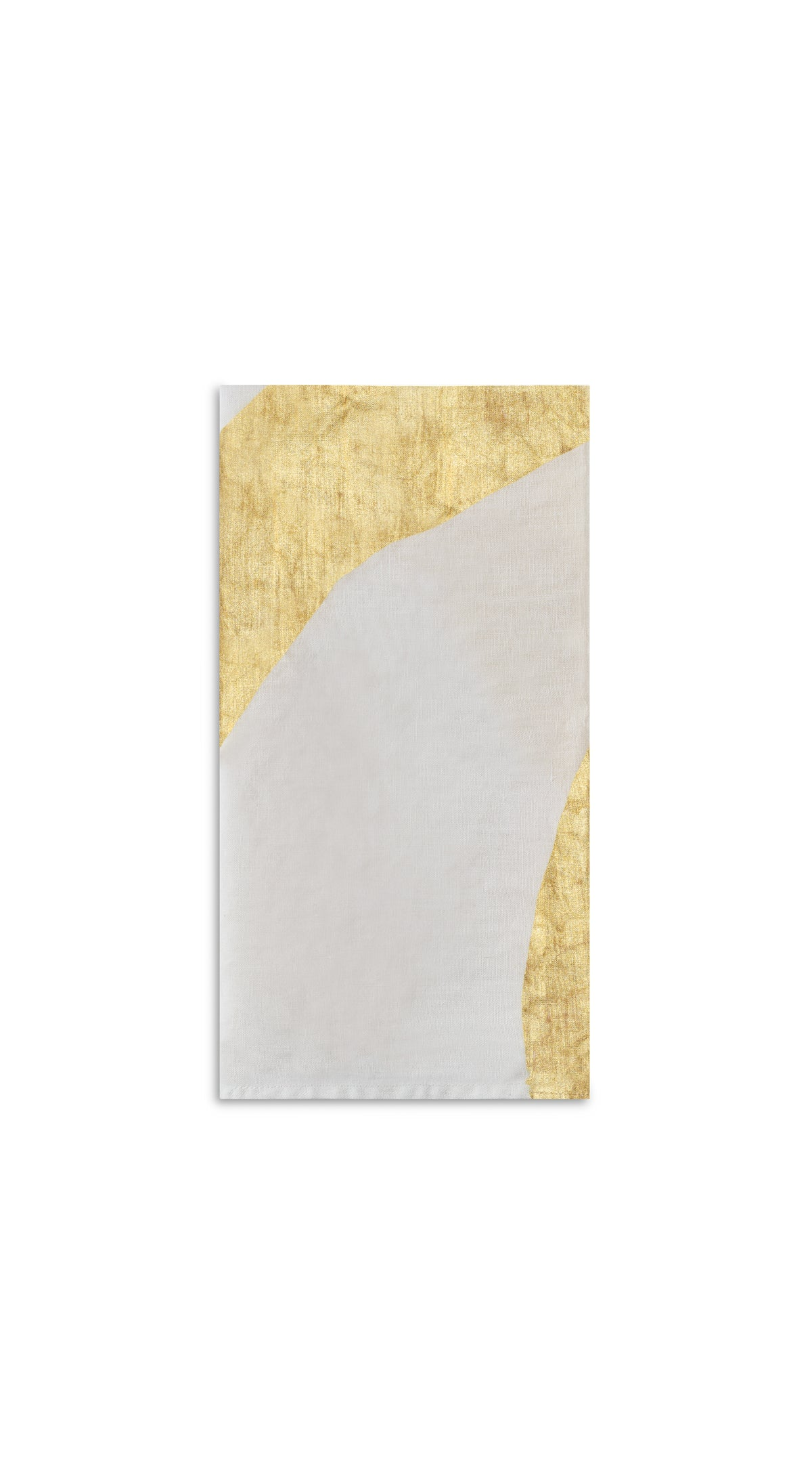 Alphabet Napkin 'A' in Gold