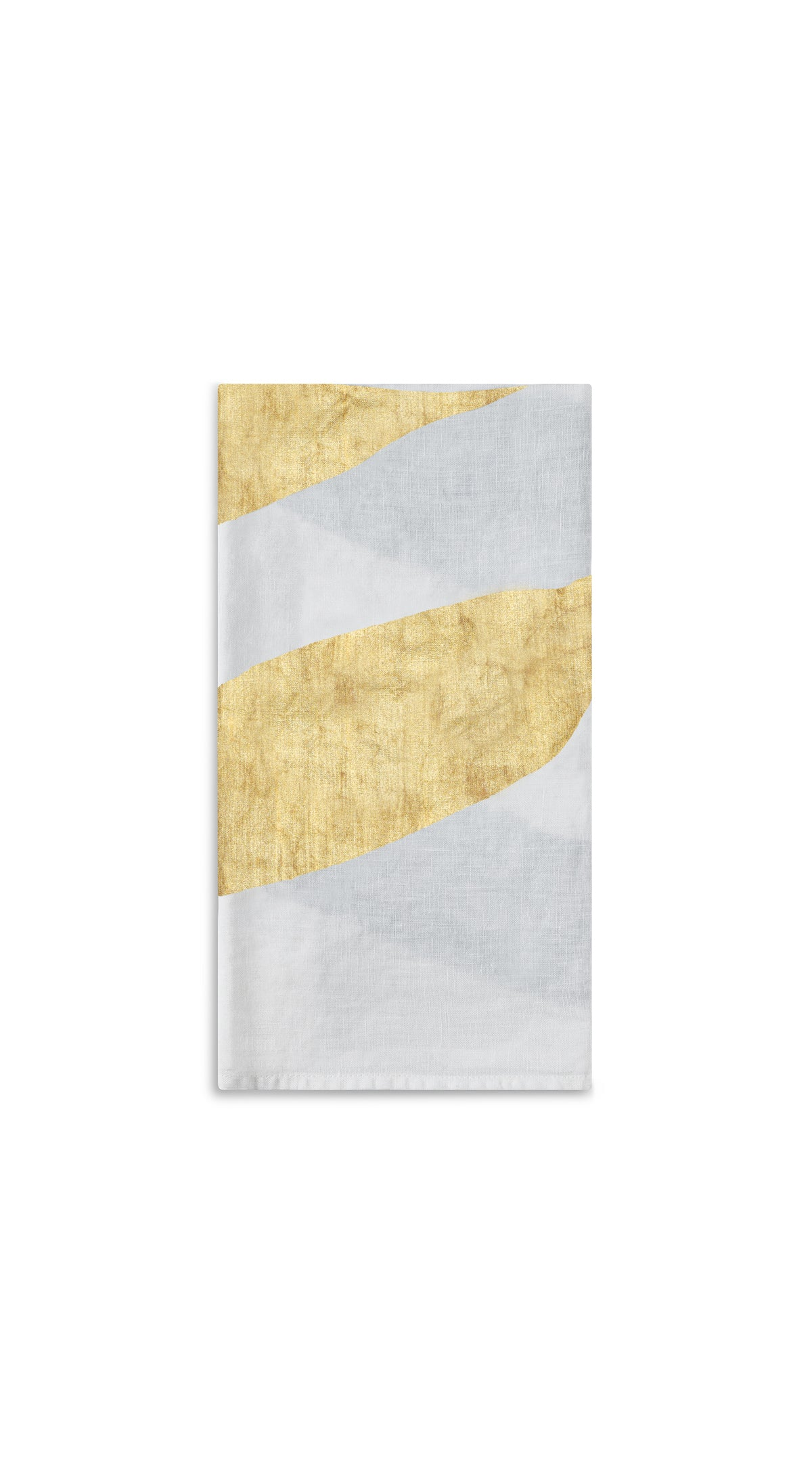 Alphabet Napkin 'E' in Gold