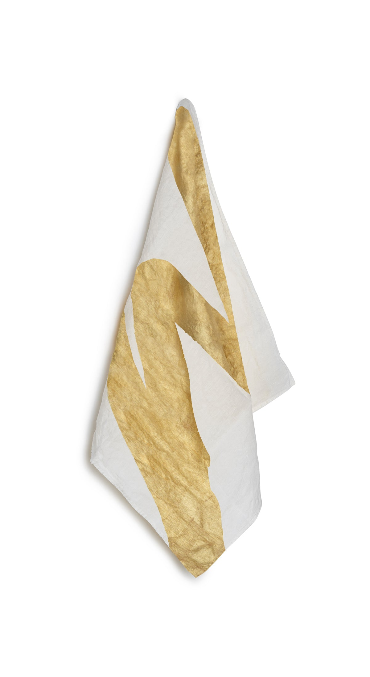 Alphabet Napkin 'W' in Gold