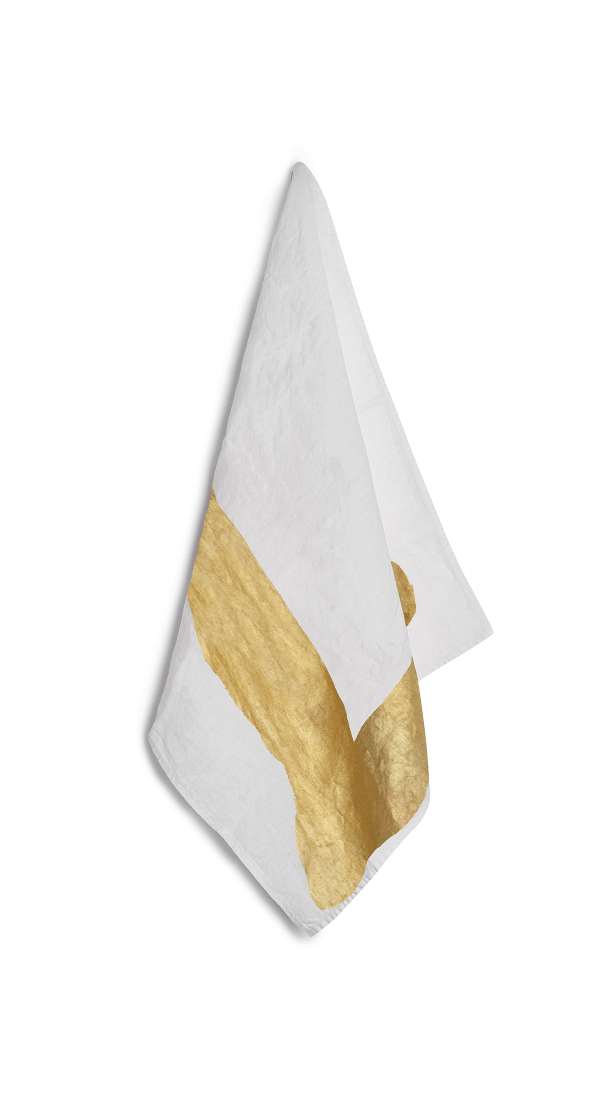 Alphabet Napkin 'L' in Gold