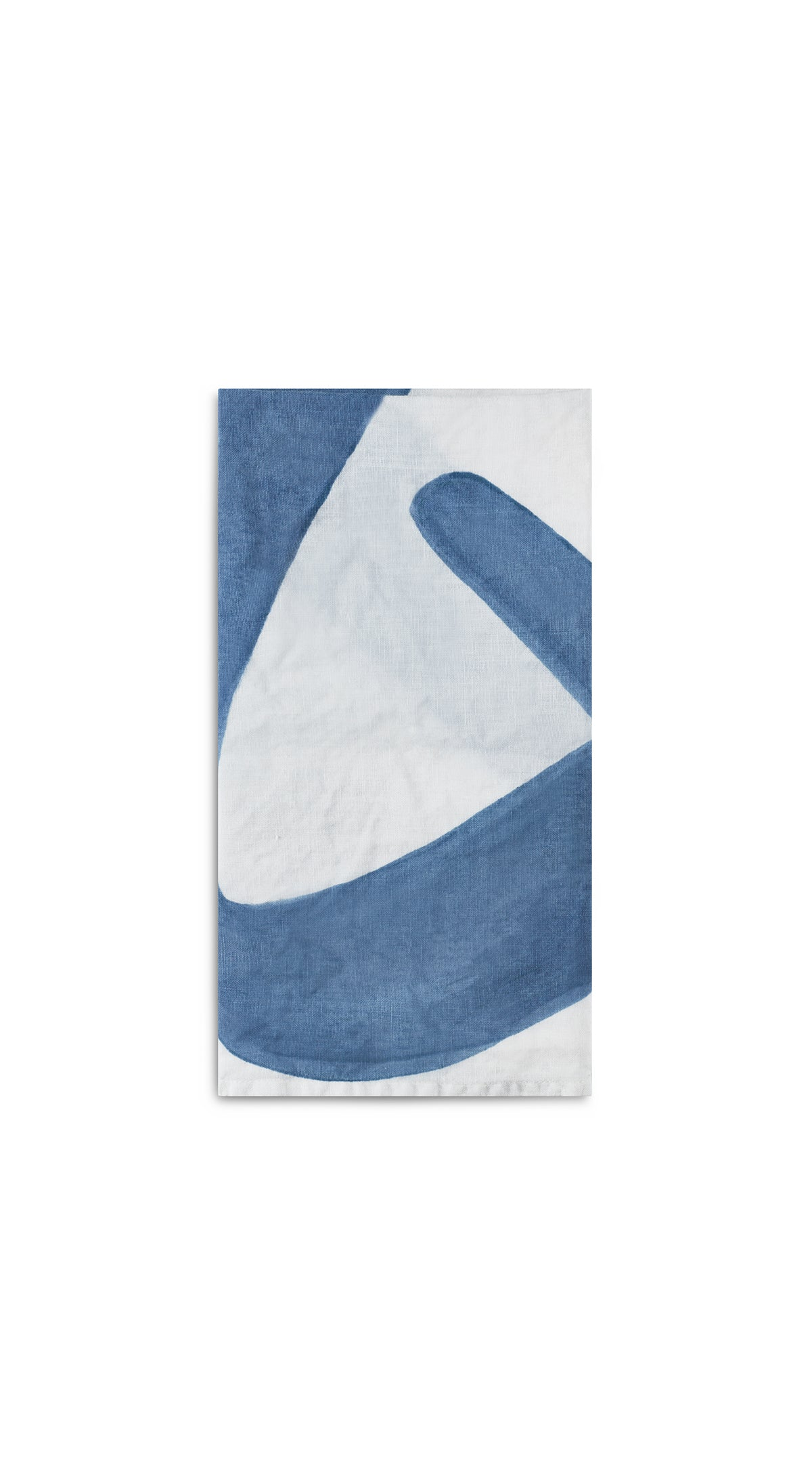 Alphabet Napkin 'Q' in Powder Blue