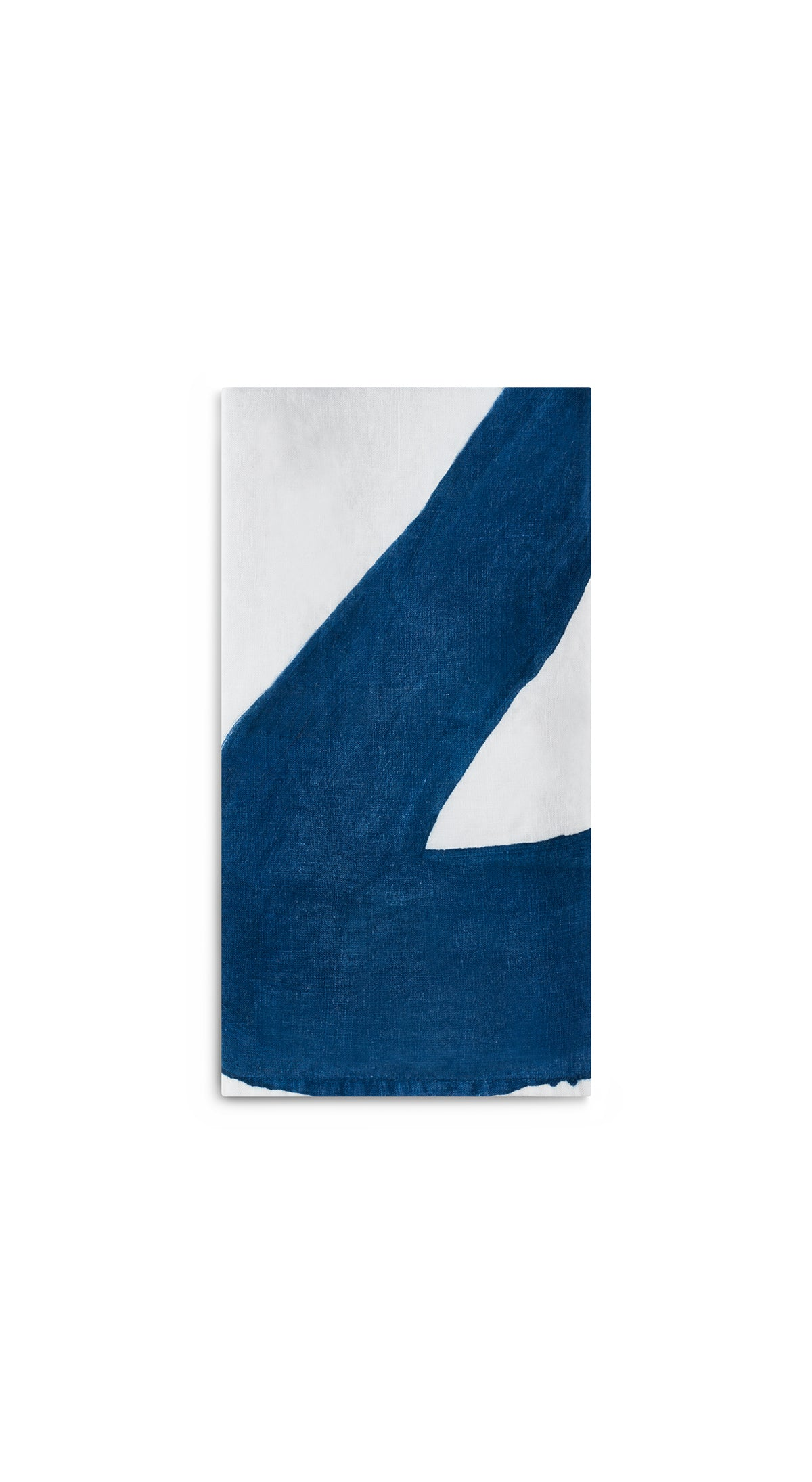 Alphabet Napkin 'Z' in Midnight Blue