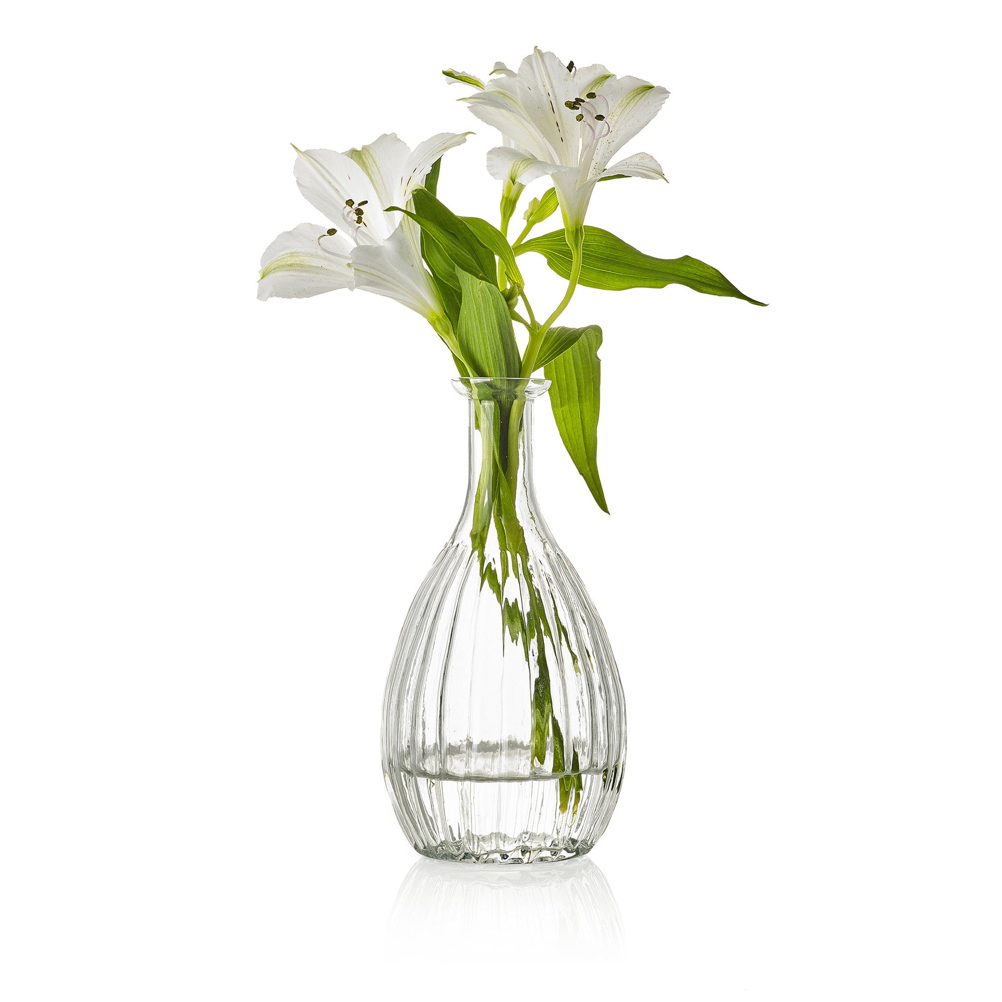 Glass Flower Vase - Amanda