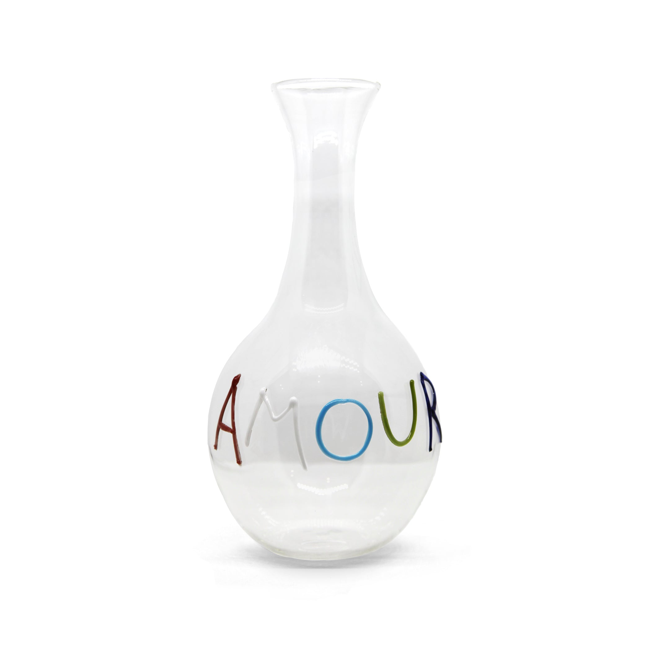 Bespoke Handblown Glass Word Carafe