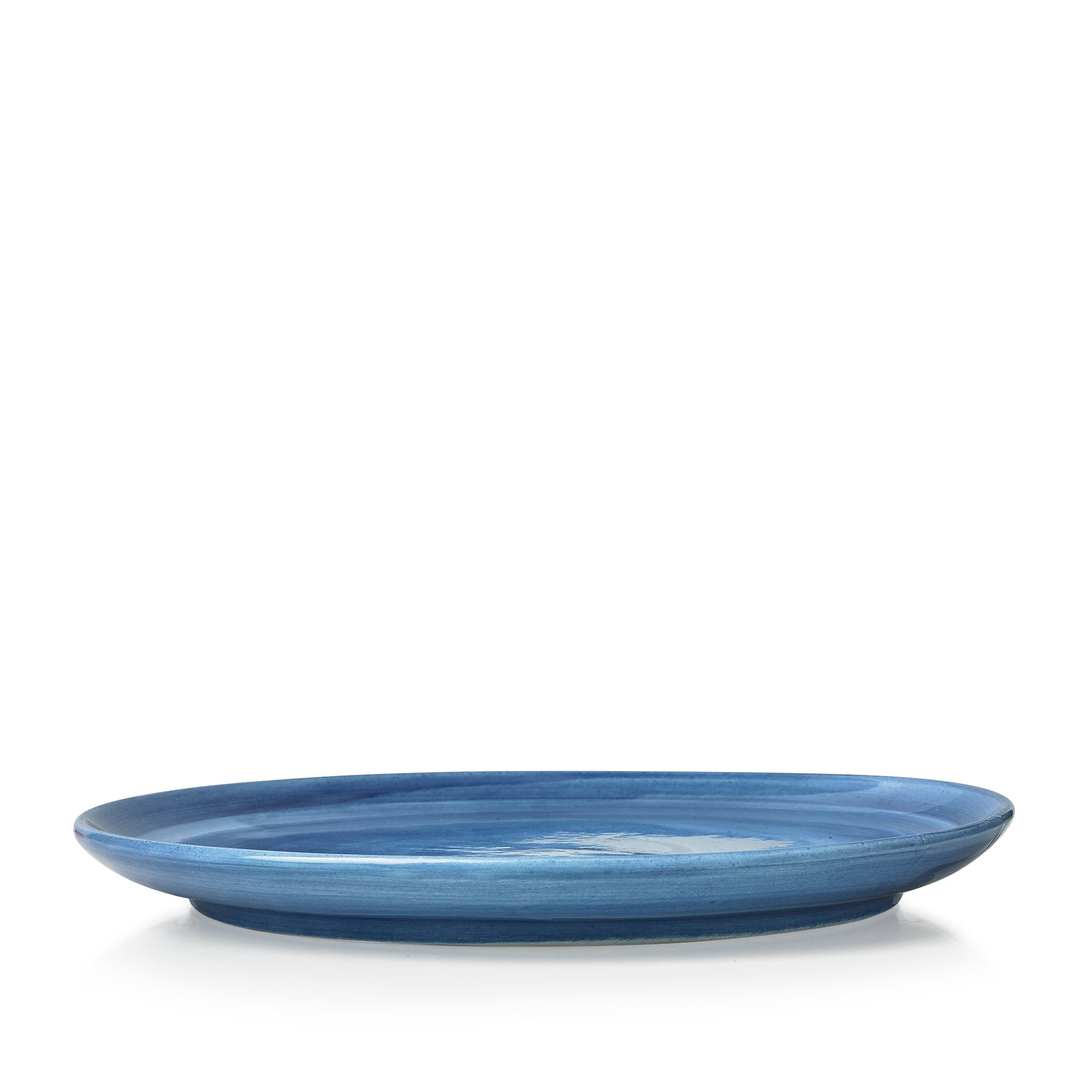 "S&B ""La Couronne"" 26cm Ceramic Dinner Plate in Blue"