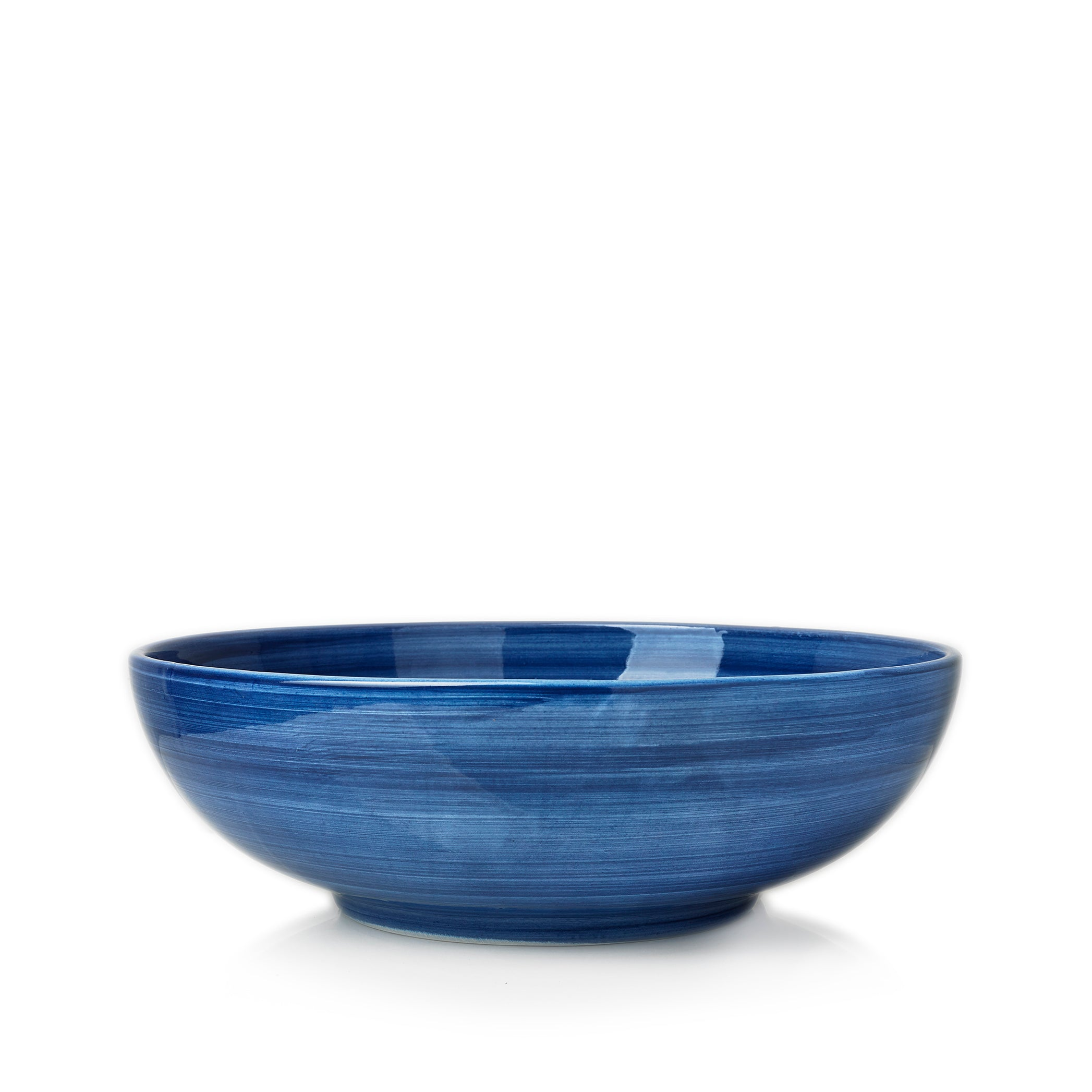 "S&B ""La Couronne"" 25cm Ceramic Serving Bowl in Blue"