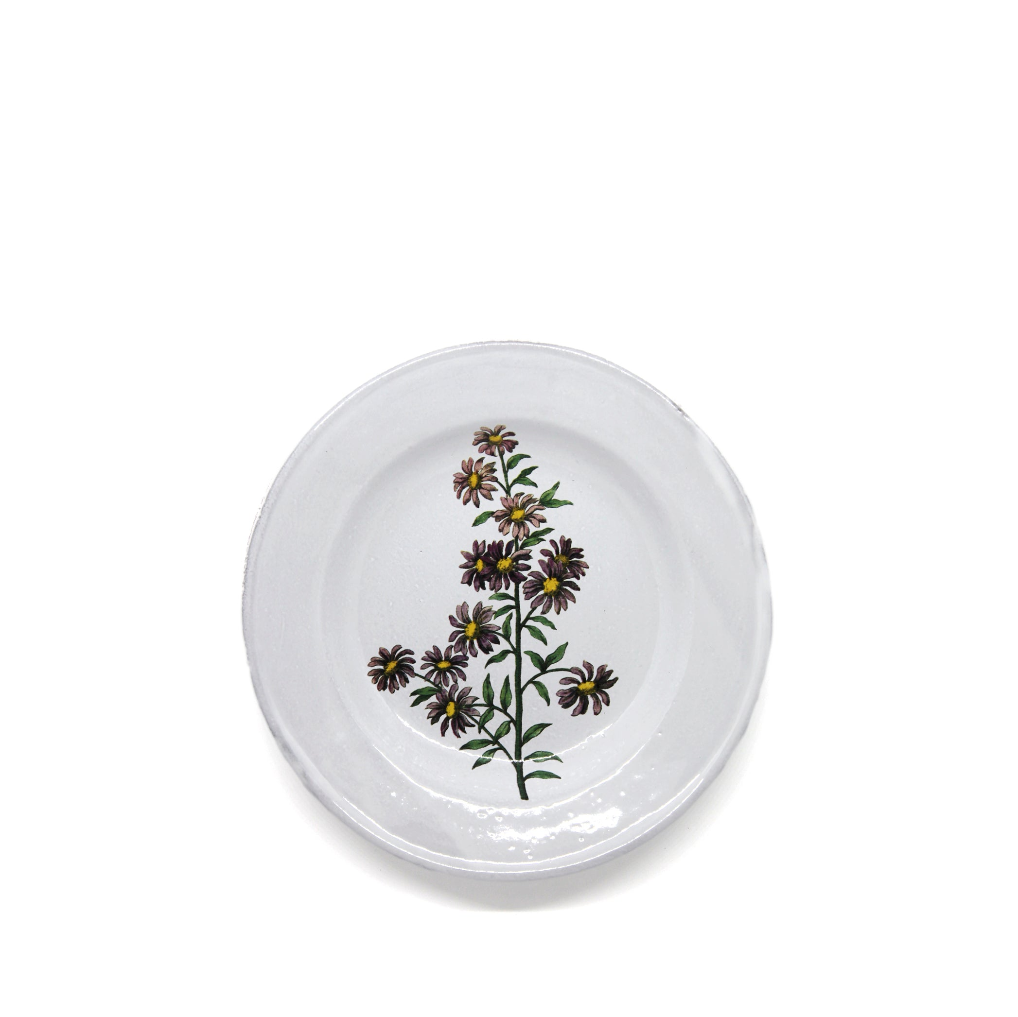 Carolina Star Flower Plate by Astier de Villatte
