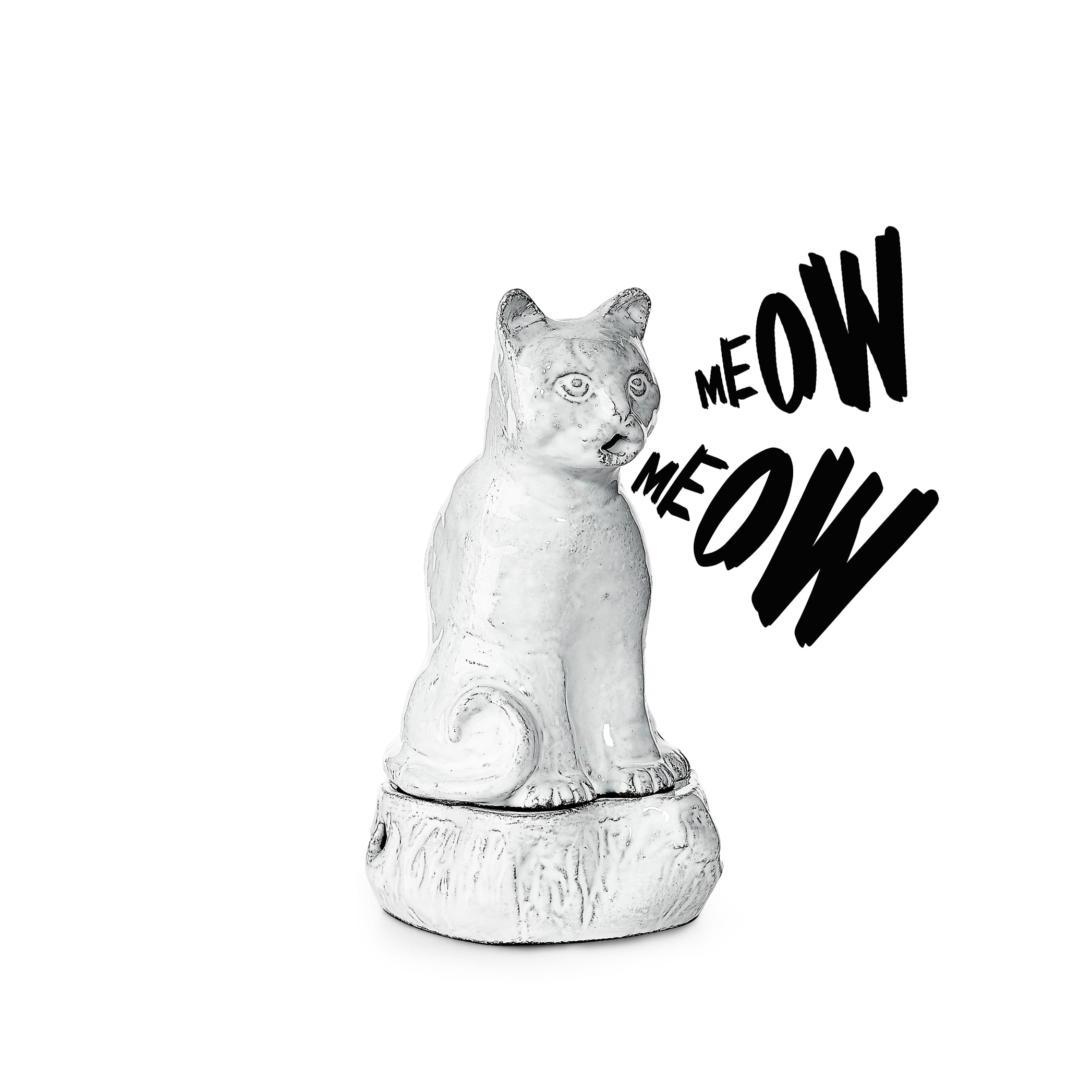 Setsuko Cat Incense Burner by Astier de Villatte