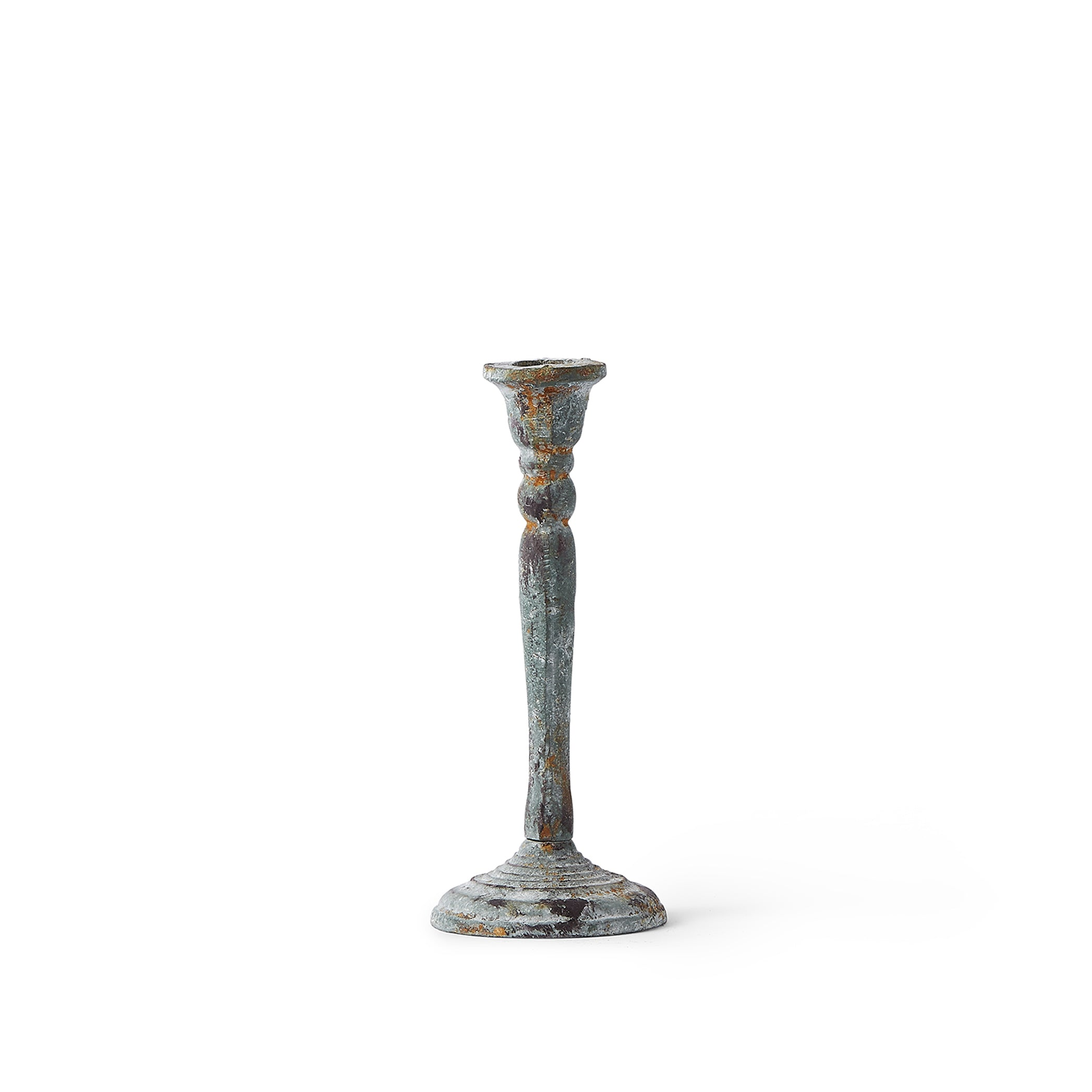 Cicely Iron Candlestick, 20cm