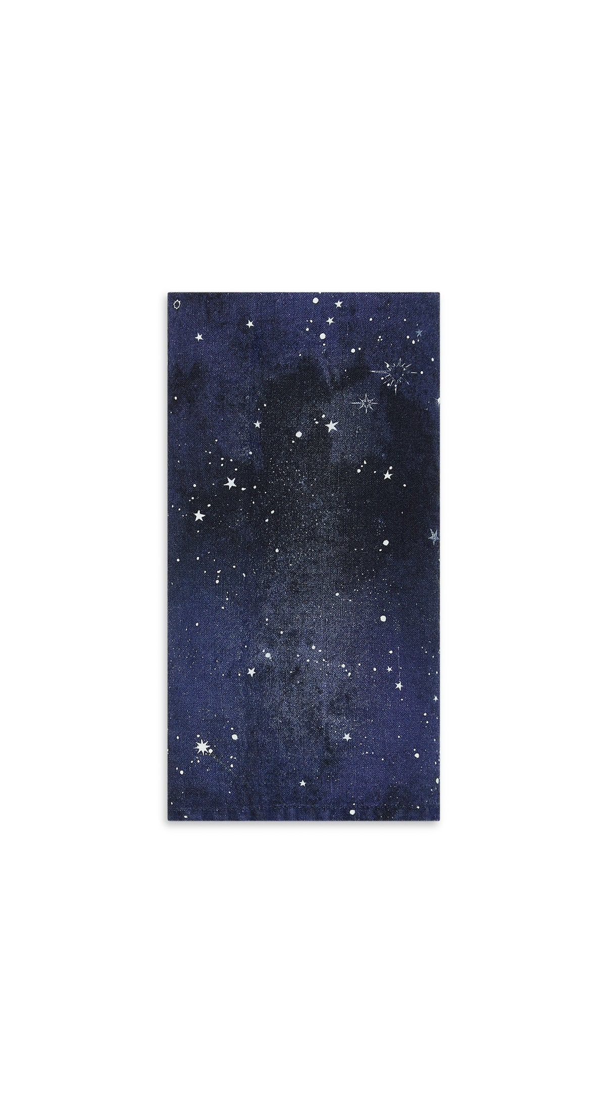 Constellation Linen Napkin in Cosmic Blue
