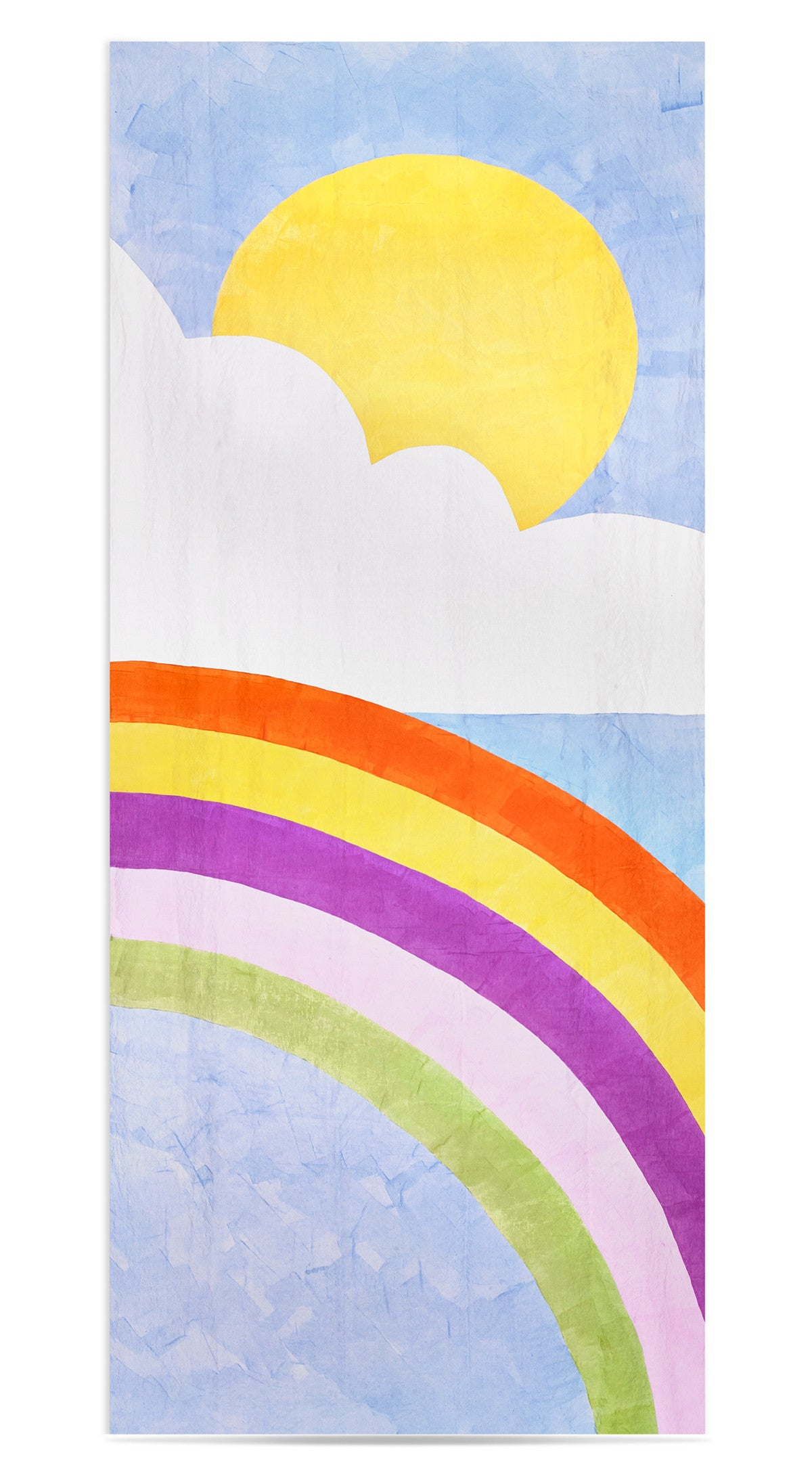 Rainbow Day Linen Tablecloth in Multicolours