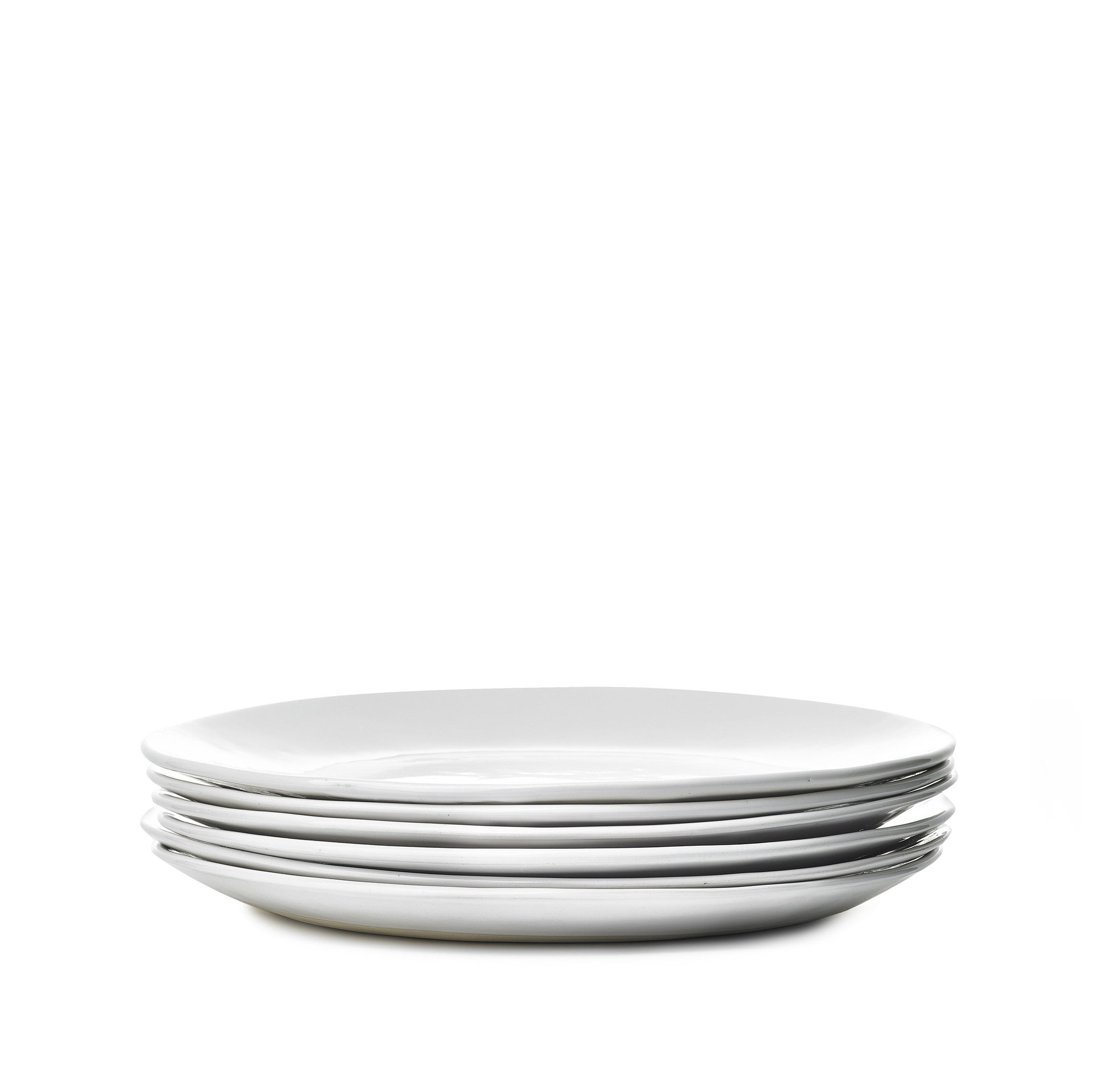 Wonki Ware Dinner Plate in White, 28cm