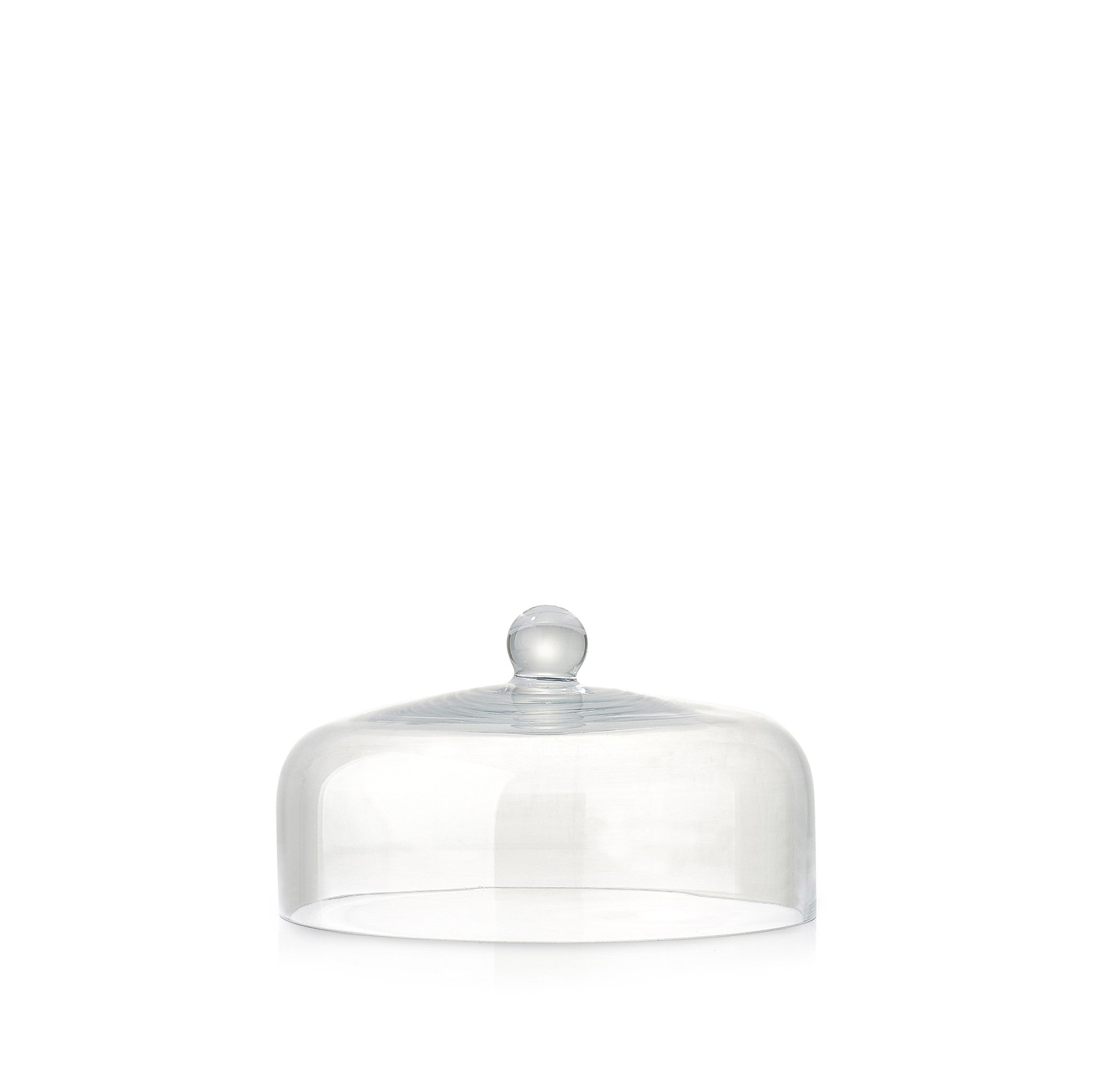 Dome Shaped Glass Cloche, 12cm