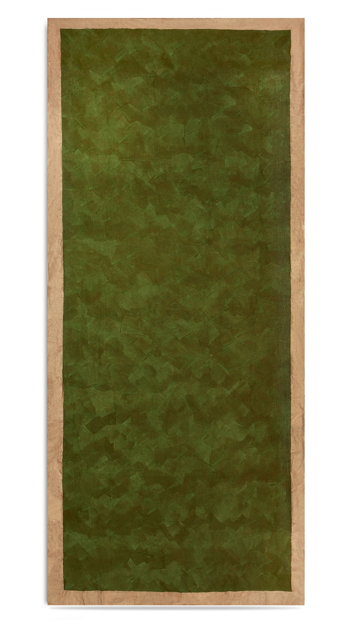 Bronze Edge Linen Tablecloth in Avocado Green