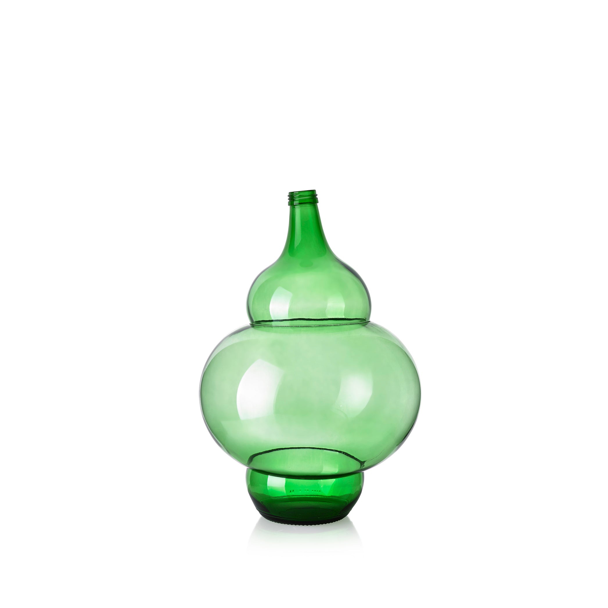 Handblown Genie Glass Bottle - Iago