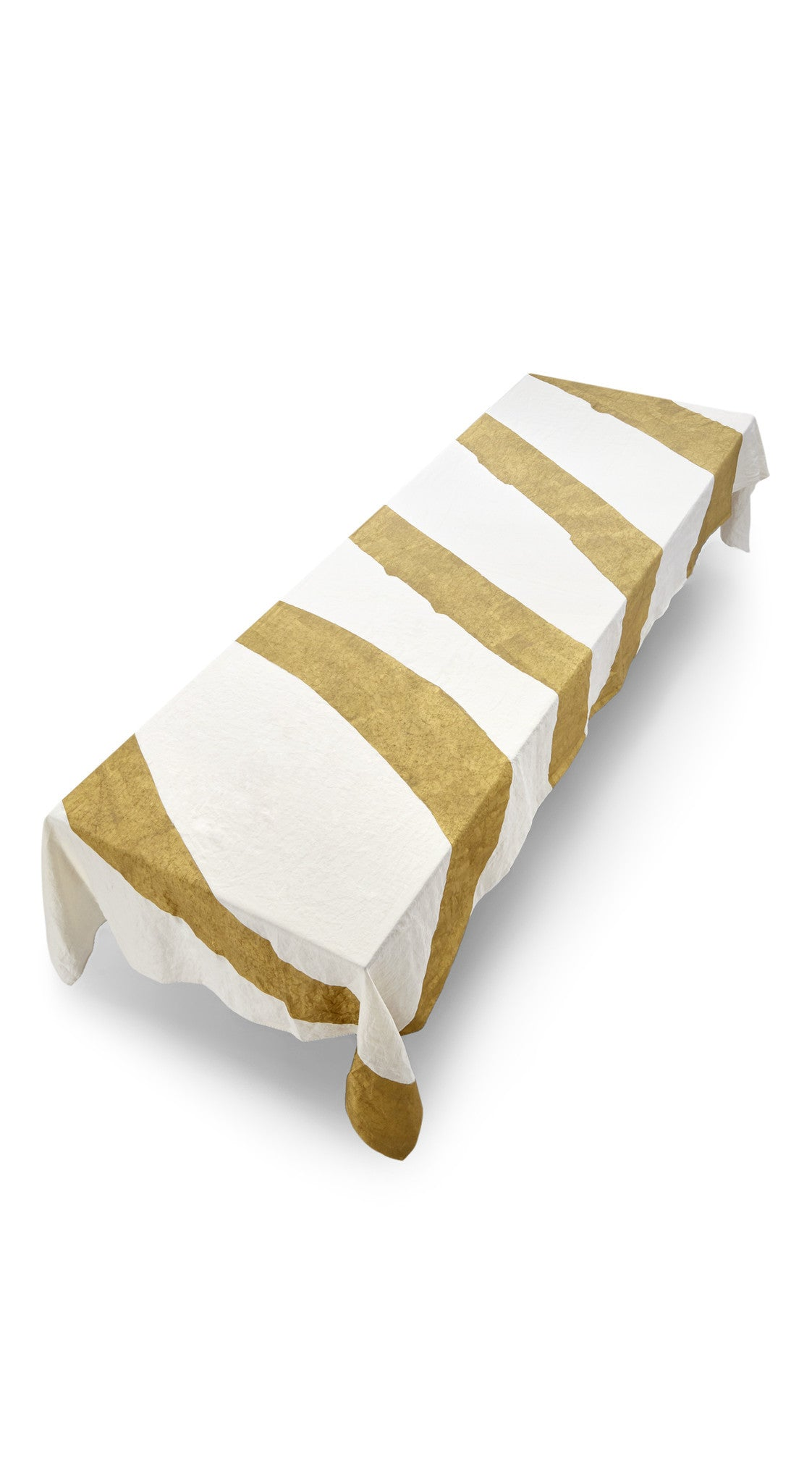Oui Linen Tablecloth in Gold