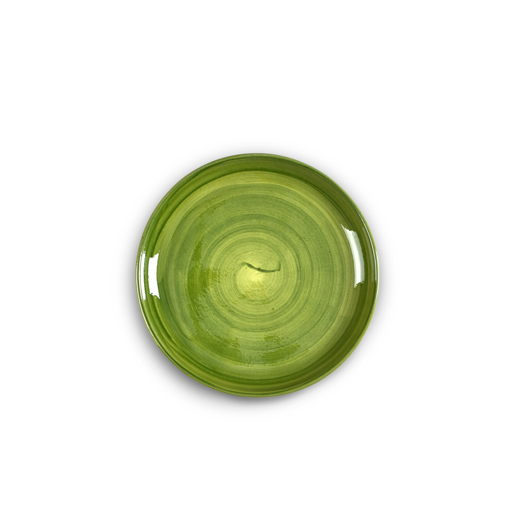 "S&B ""La Couronne"" 20cm Ceramic Side Plate in Green"