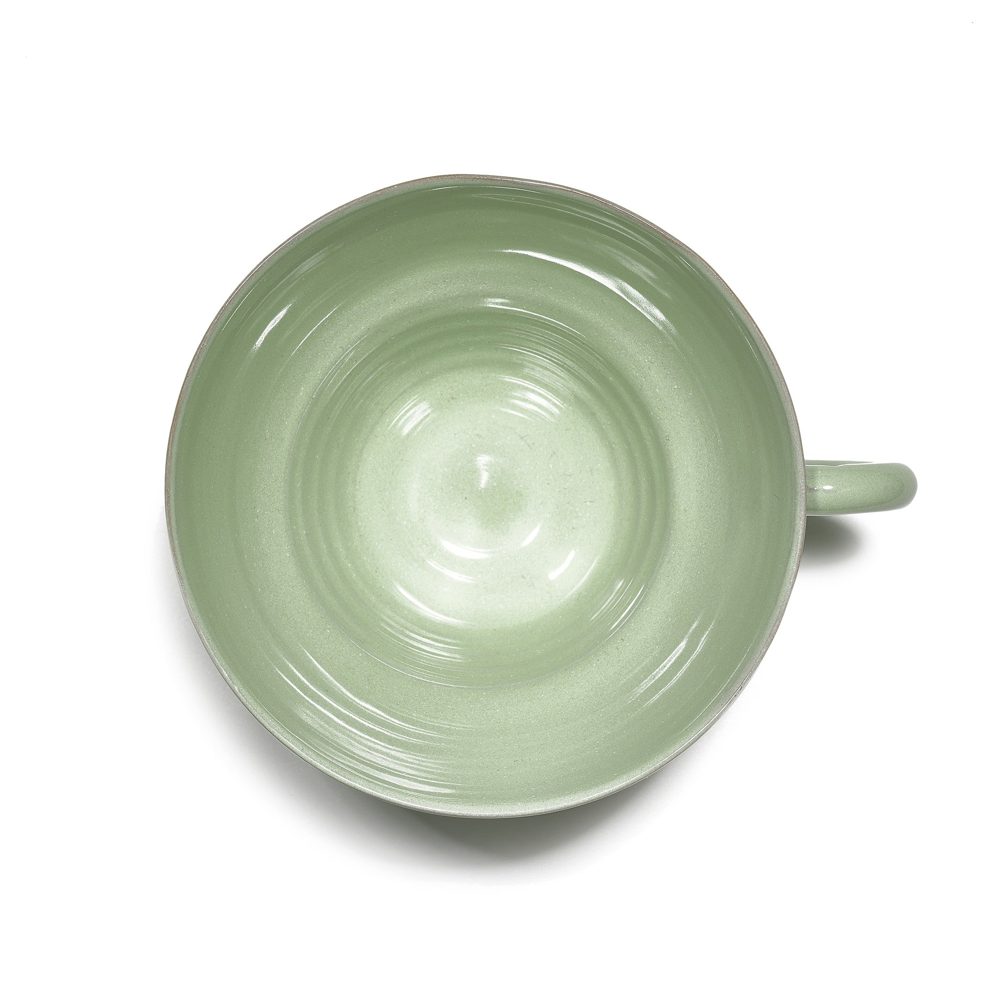 Hot Chocolate Mug in Jade Green