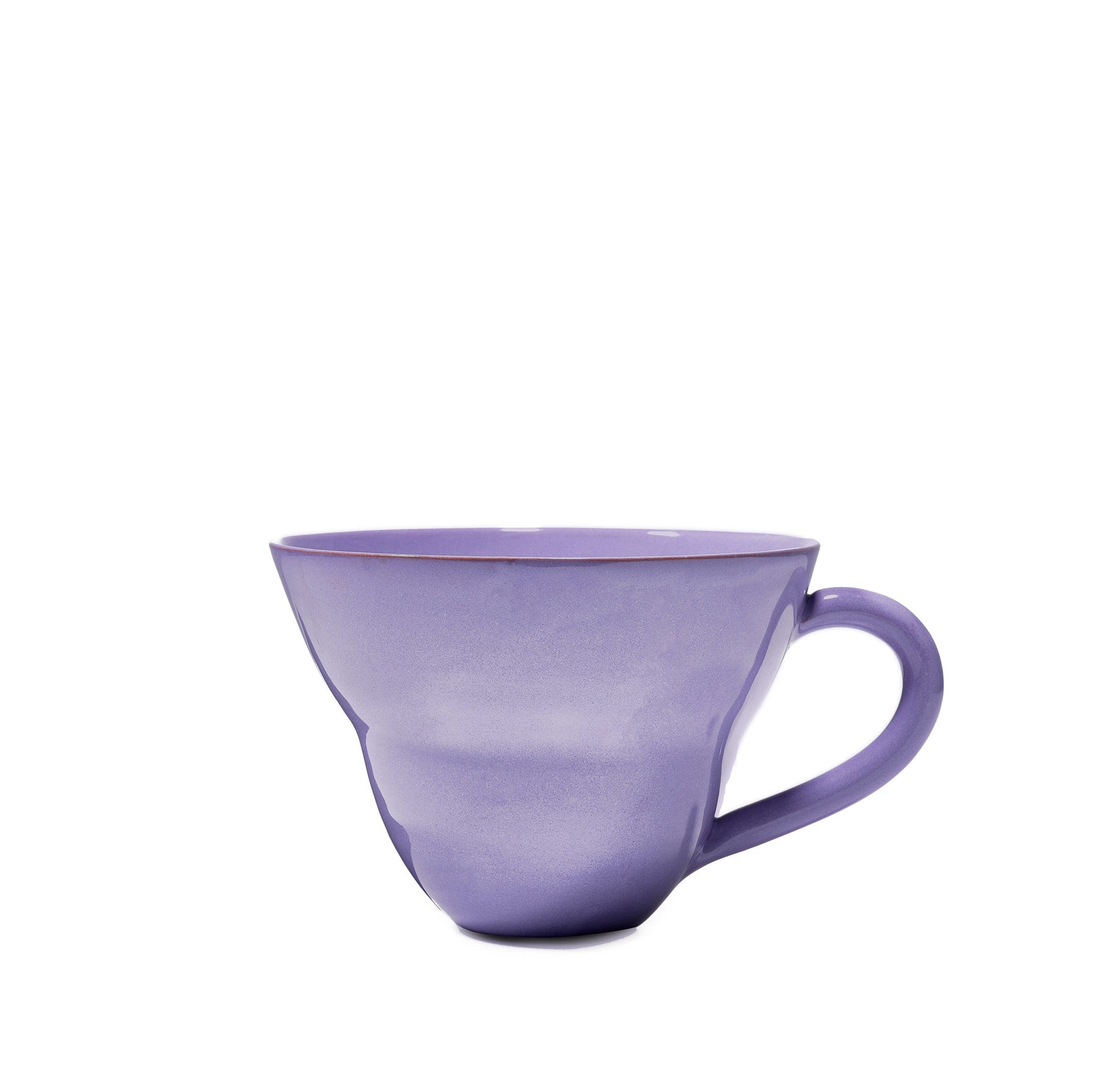 Hot Chocolate Mug in Lilac