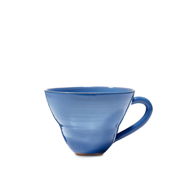 Hot Chocolate Mug in Dark Blue