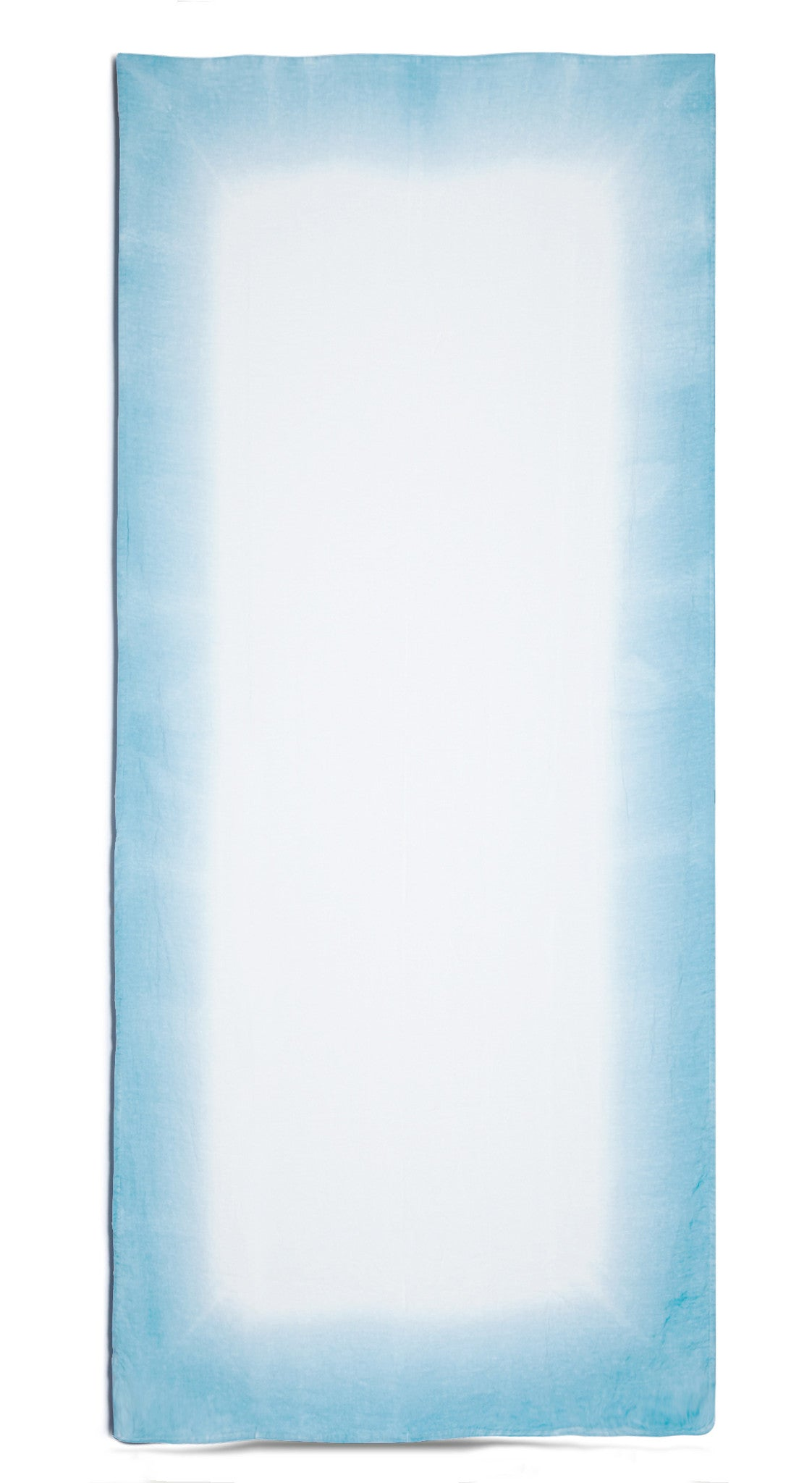 Fade Linen Tablecloth in Baby Blue