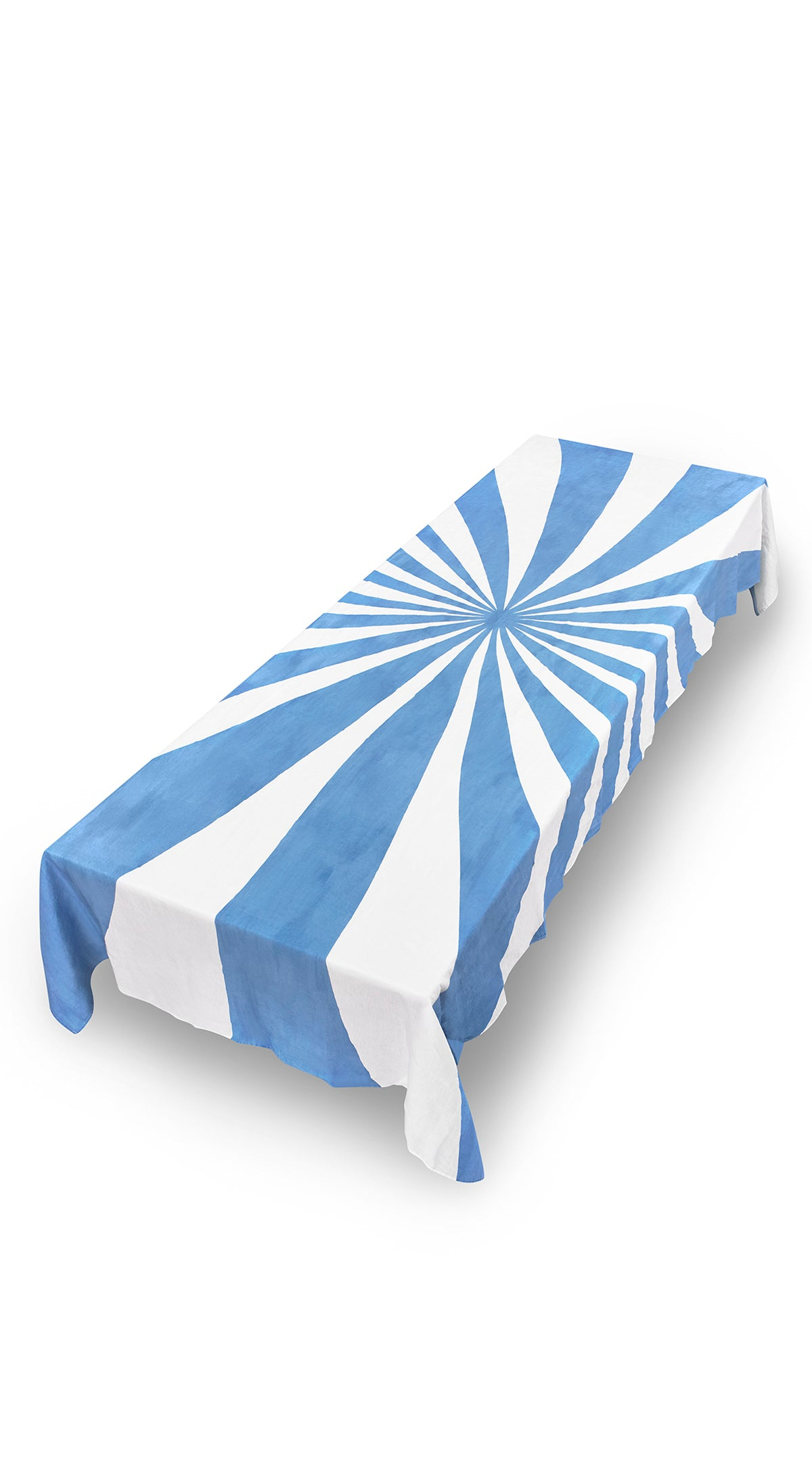 Le Cirque Linen Tablecloth in Blue