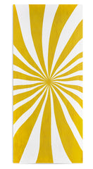 Le Cirque Linen Tablecloth in Yellow