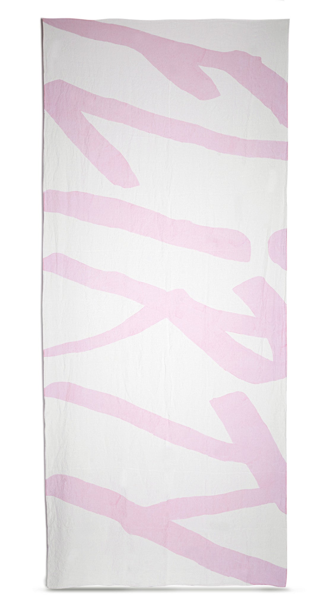 Flirty Linen Tablecloth in Petal Pink