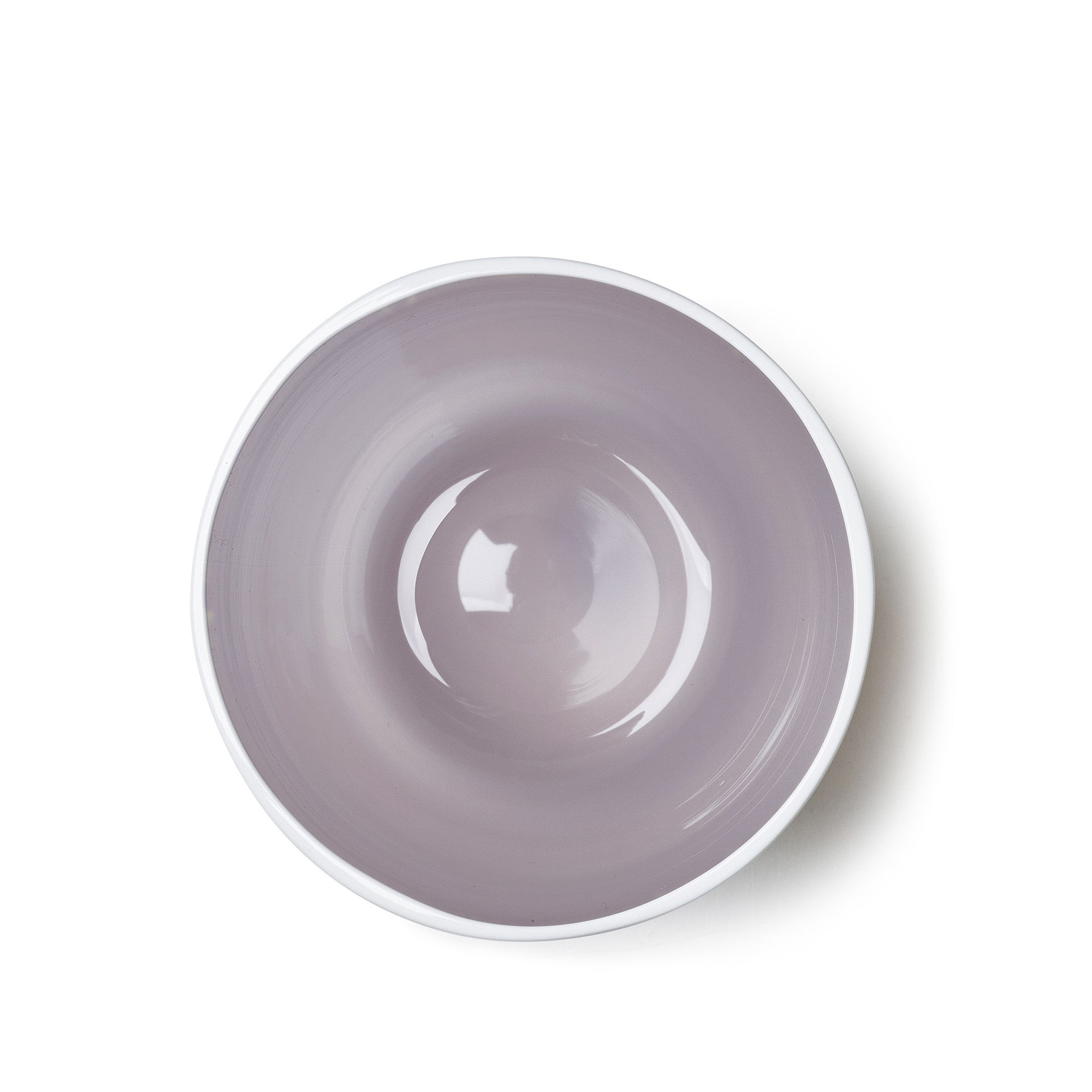 Handblown Bumba Glass in Lilac