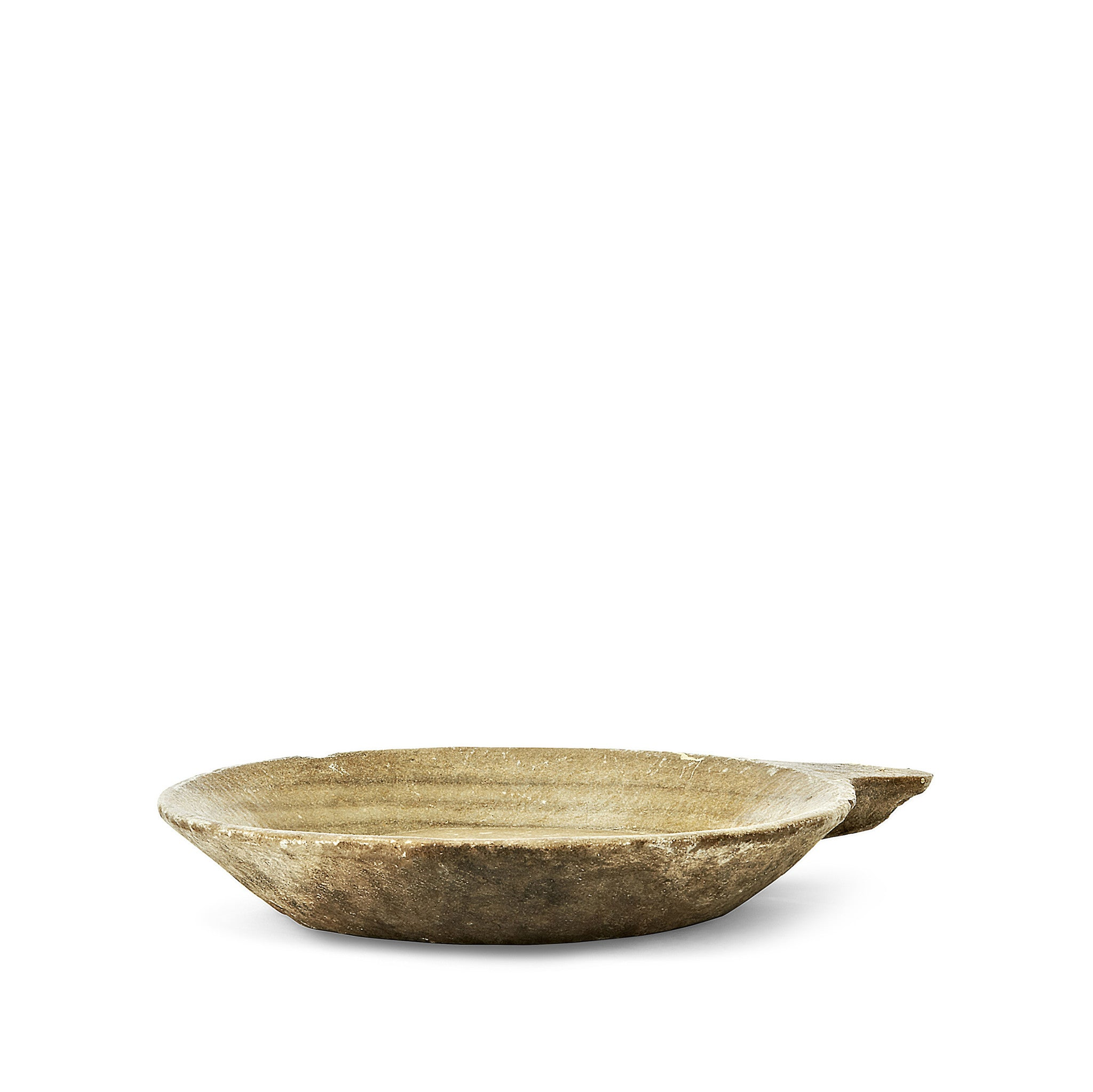 Marble Bowl with Handle, Medium