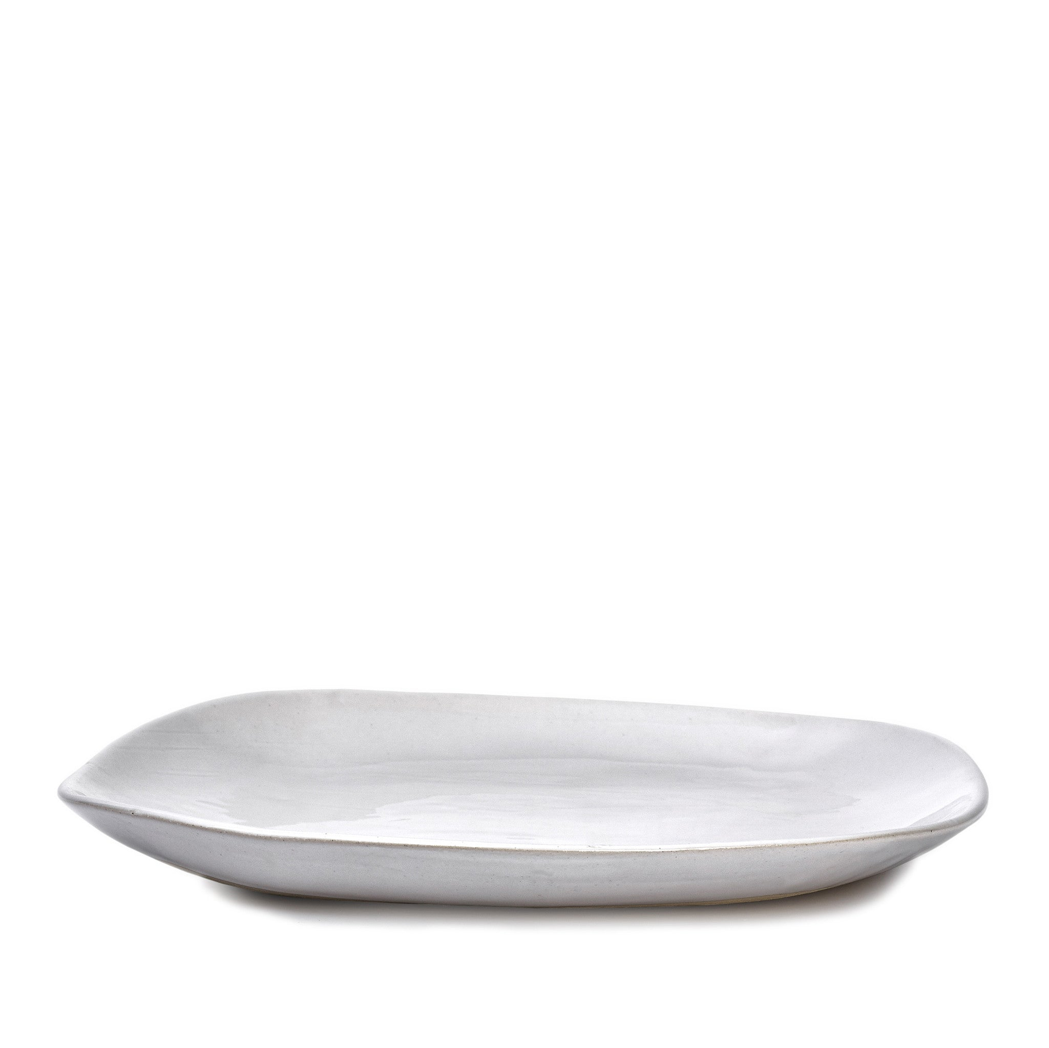 Wonki Ware Meat Platter in White, 40cm