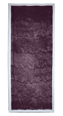 Full Field Linen Tablecloth in Grape Purple