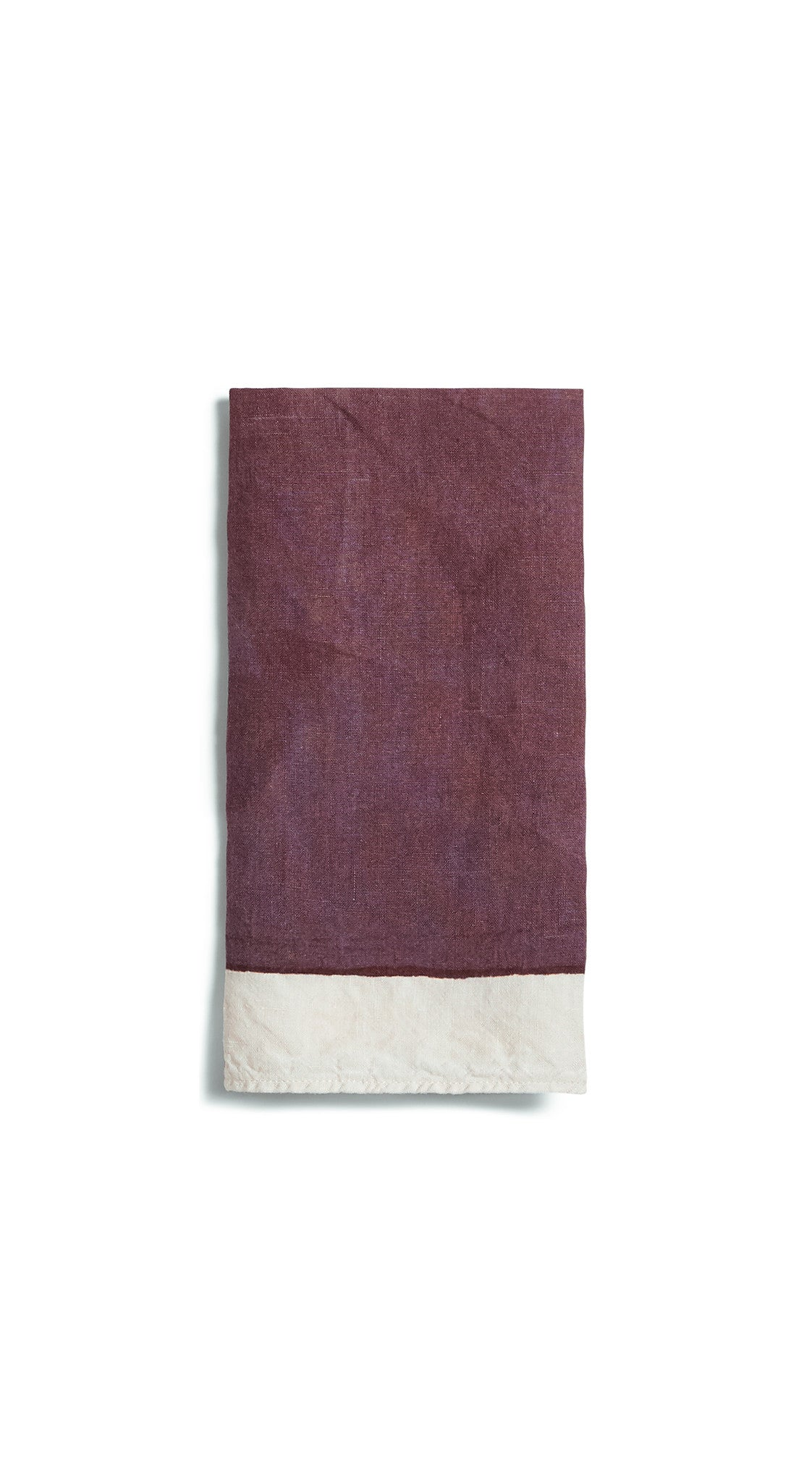 Full Field Linen Napkin in Grape Purple
