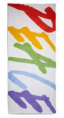 Peace Linen Tablecloth in Multicolours