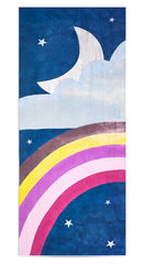Rainbow Night Linen Tablecloth in Multicolours