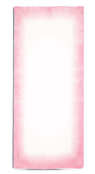 Fade Linen Tablecloth in Pink