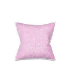 Hand Painted Linen Cushion Cover in Pale Pink, 60cm x 60cm