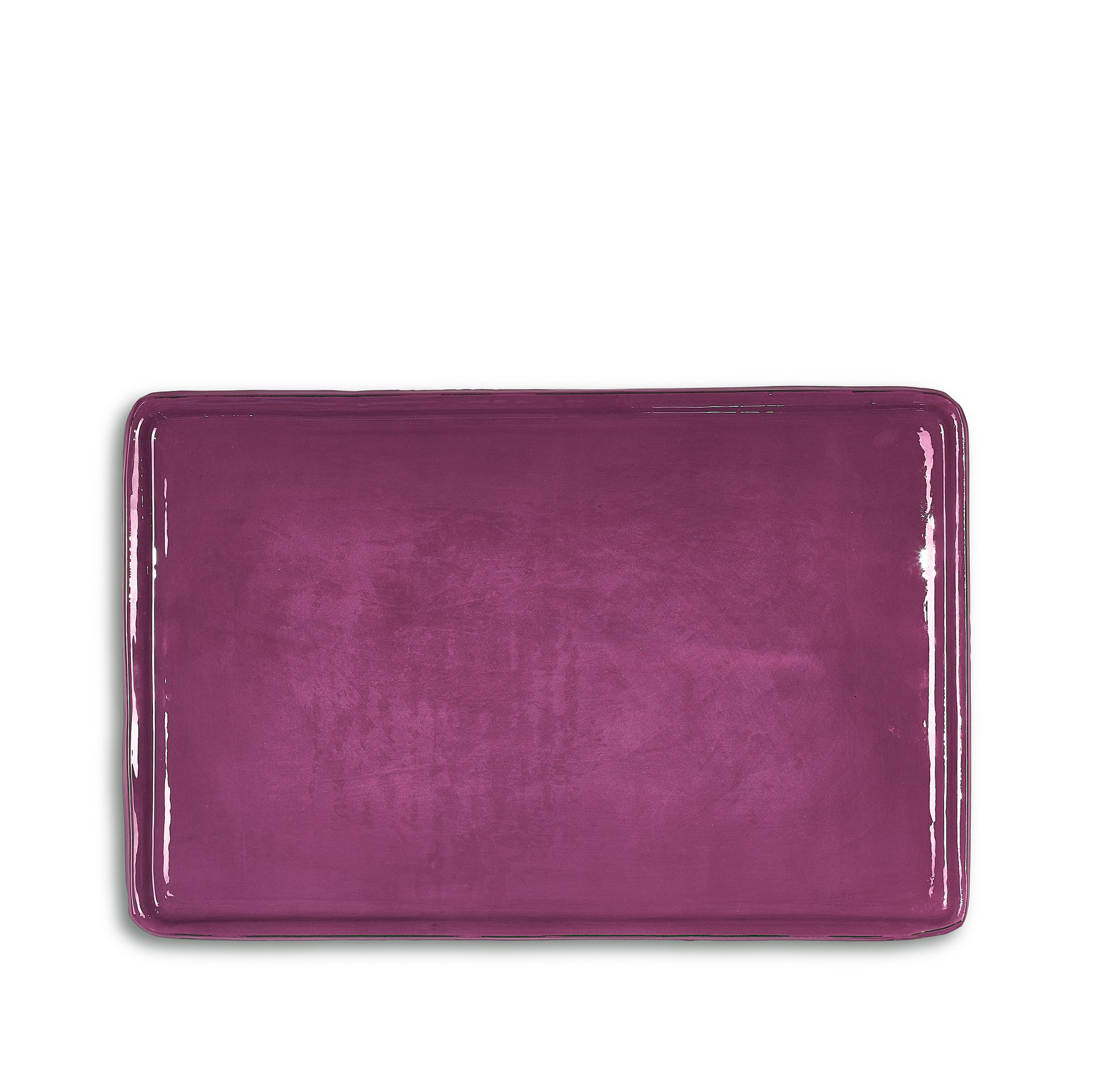 Ceramic Tray in Purple