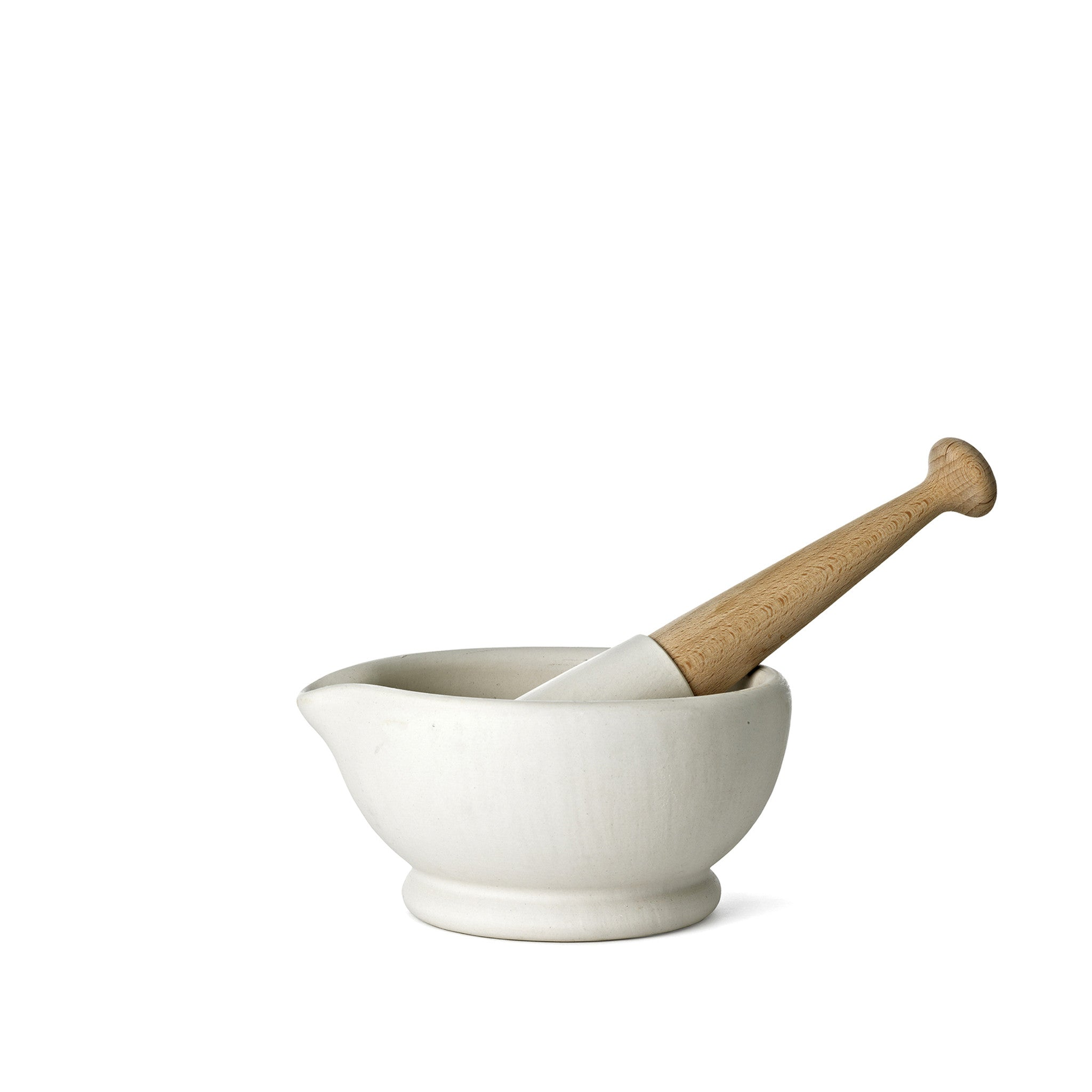 Porcelain Pestle & Mortar, Medium