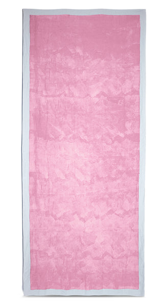 Full Field Linen Tablecloth in Rose Pink