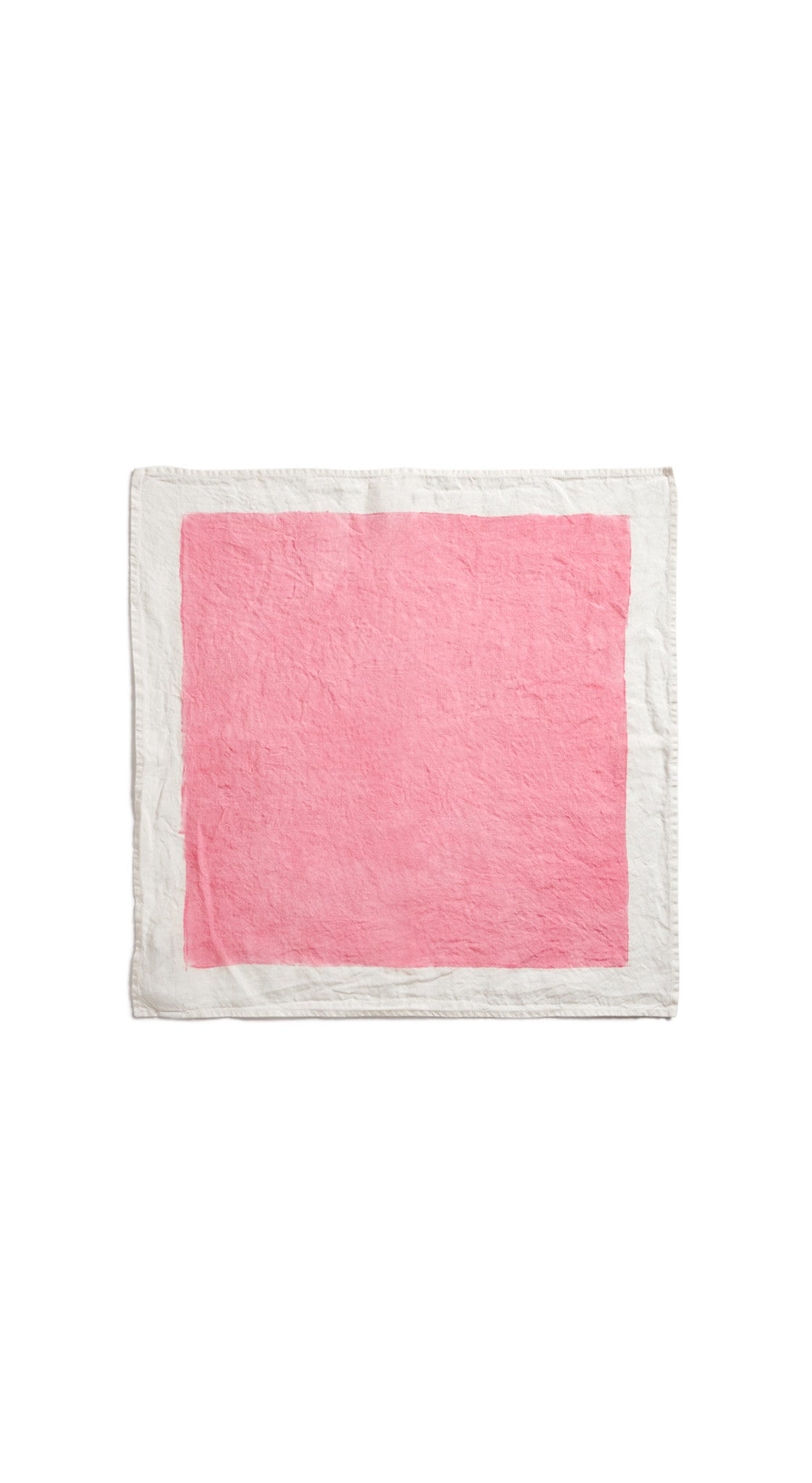 Full Field Linen Napkin in Rose Pink