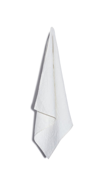 Plain Linen Napkin in White