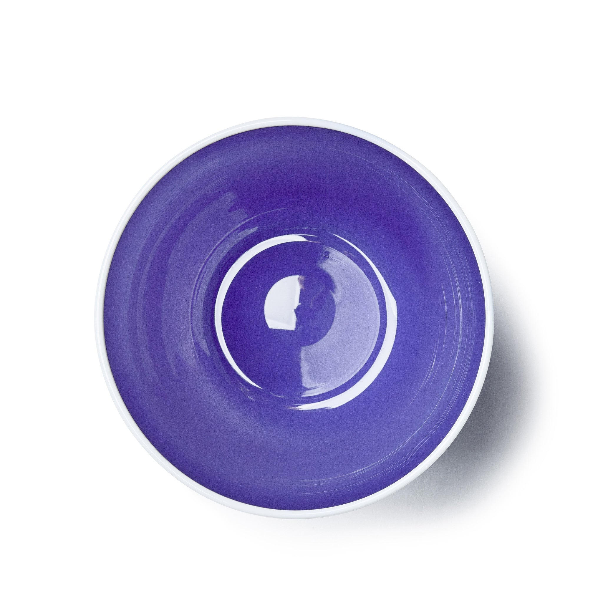 Handblown Bumba Glass in Purple
